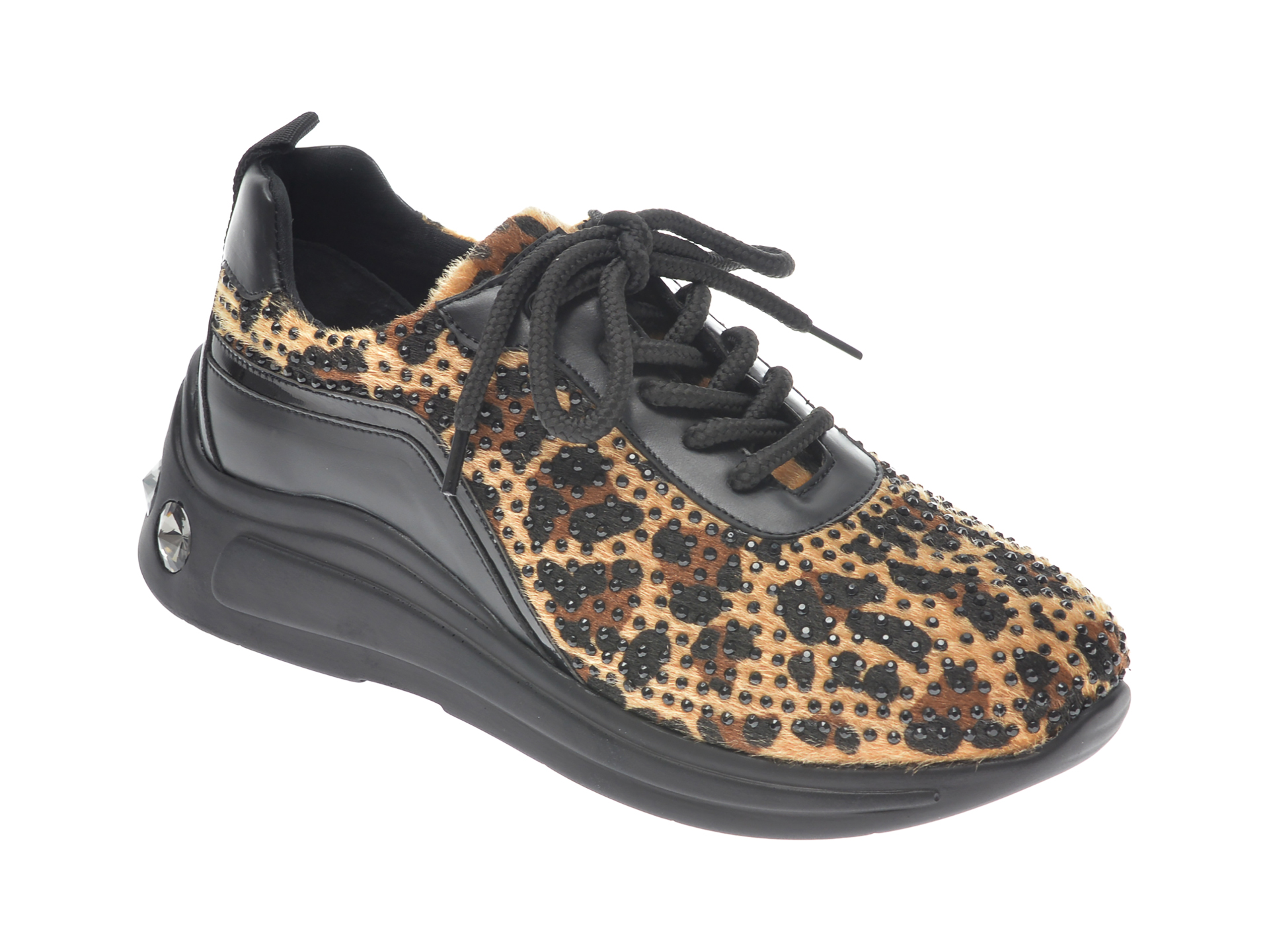 Pantofi sport GRYXX maro, P456, din material textil imagine