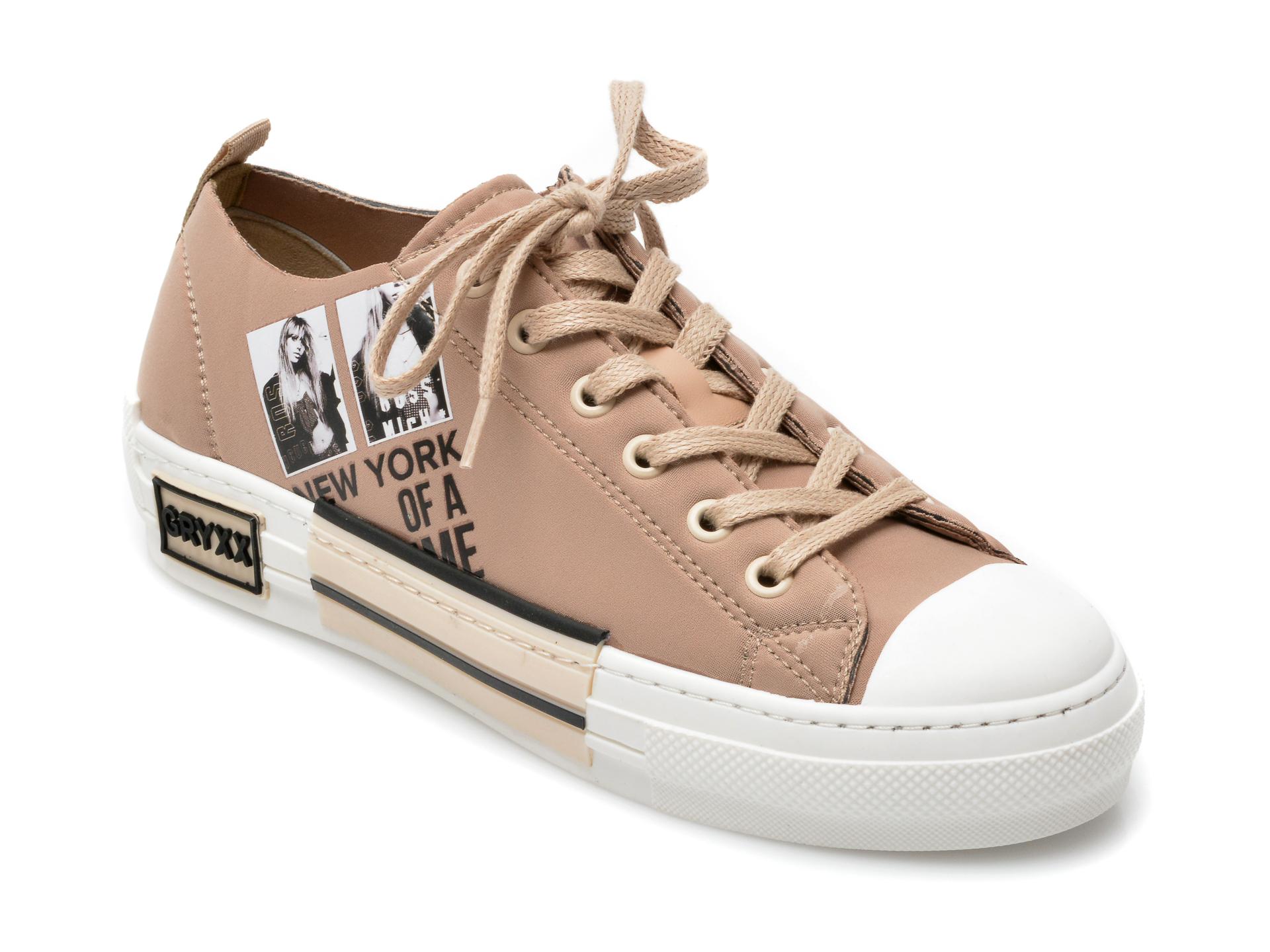 Pantofi sport GRYXX maro, T132, din material textil imagine otter.ro 2021