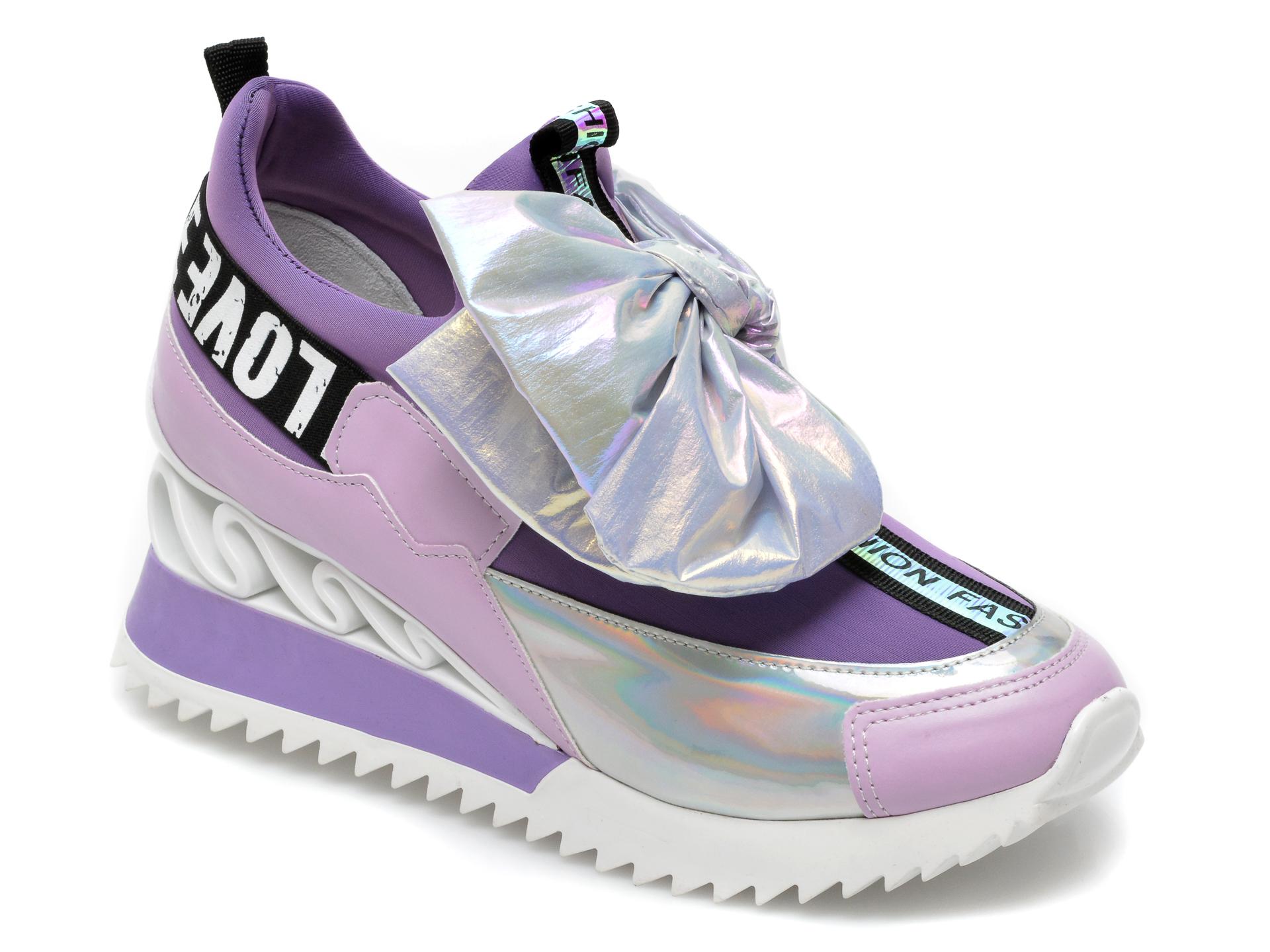 Pantofi sport GRYXX mov, MK88107, din material textil si piele ecologica imagine otter.ro 2021