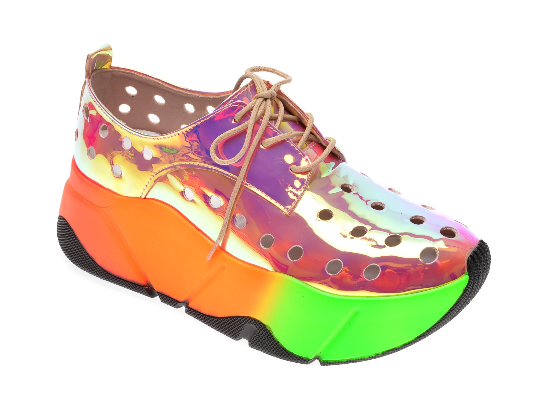 Pantofi sport GRYXX multicolor, MO86S2, din piele ecologica imagine