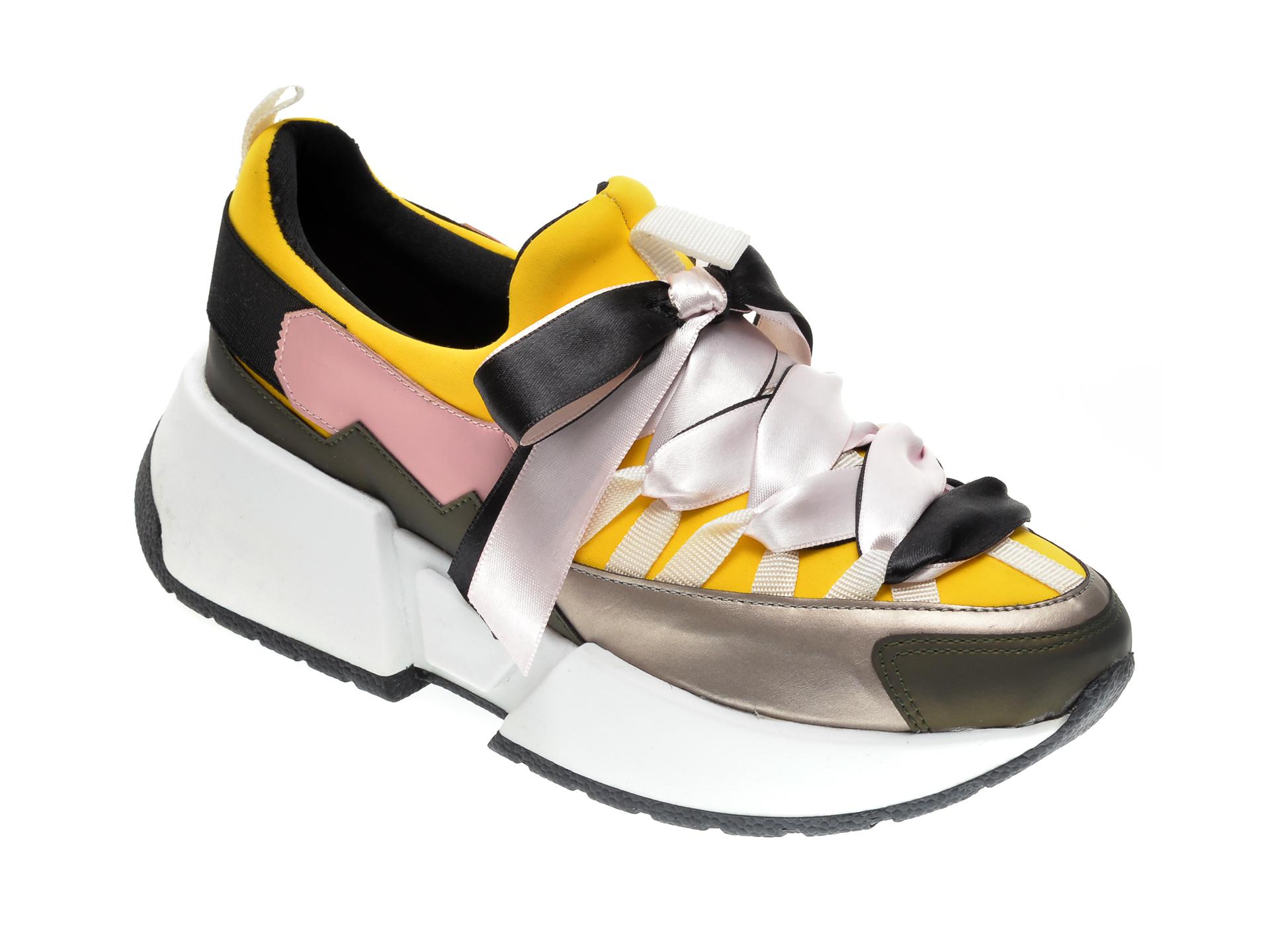 Pantofi sport GRYXX multicolori, MK1051, din material textil si piele ecologica imagine