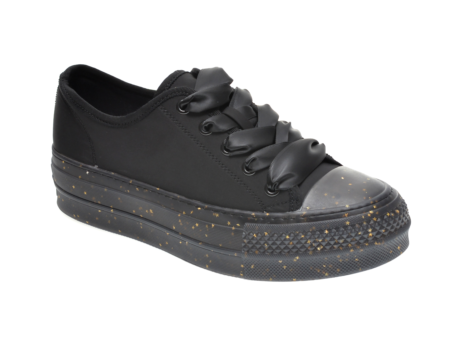 Pantofi sport GRYXX negri, 202062, din material textil imagine