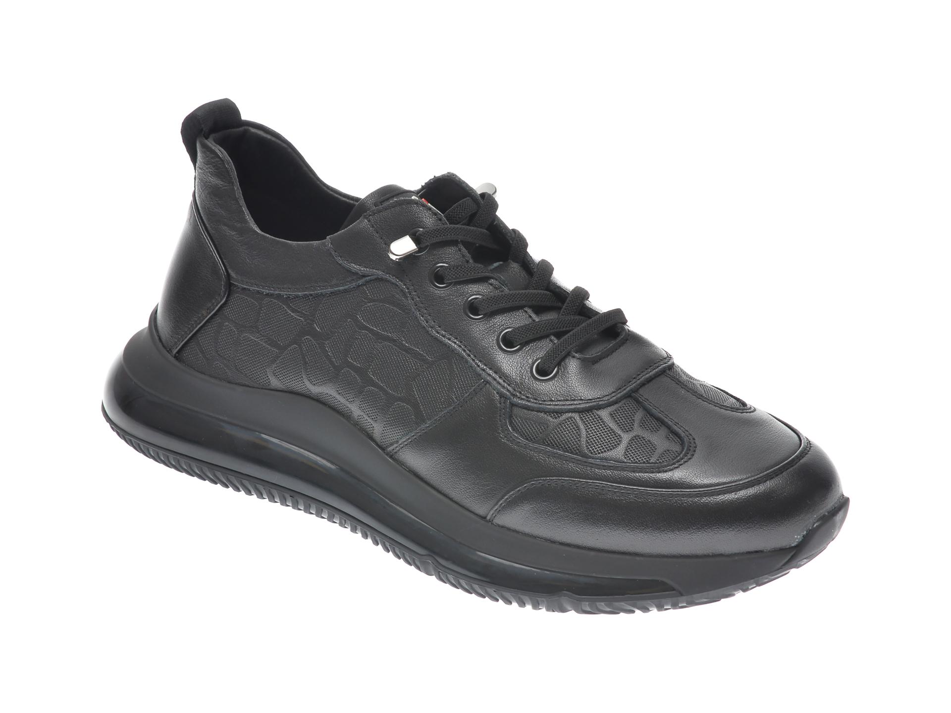 Pantofi sport GRYXX negri, 307221, din piele naturala imagine