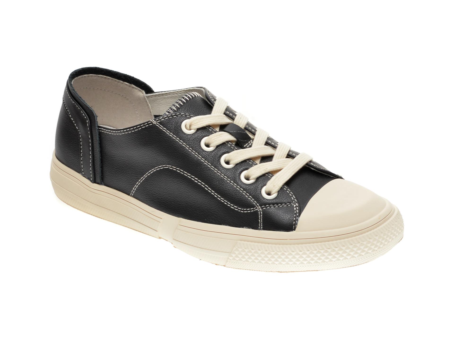 Pantofi sport GRYXX negri, 6611, din piele naturala