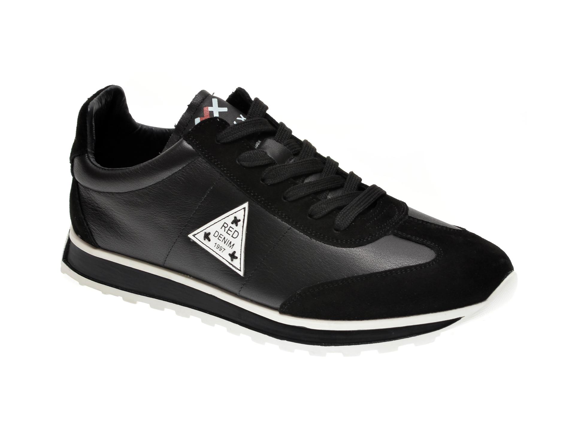 Pantofi sport GRYXX negri, 81281, din piele naturala