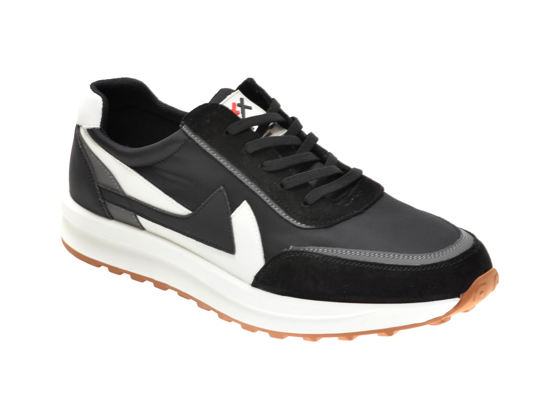 Pantofi sport GRYXX negri, 99863, din material textil si piele intoarsa imagine