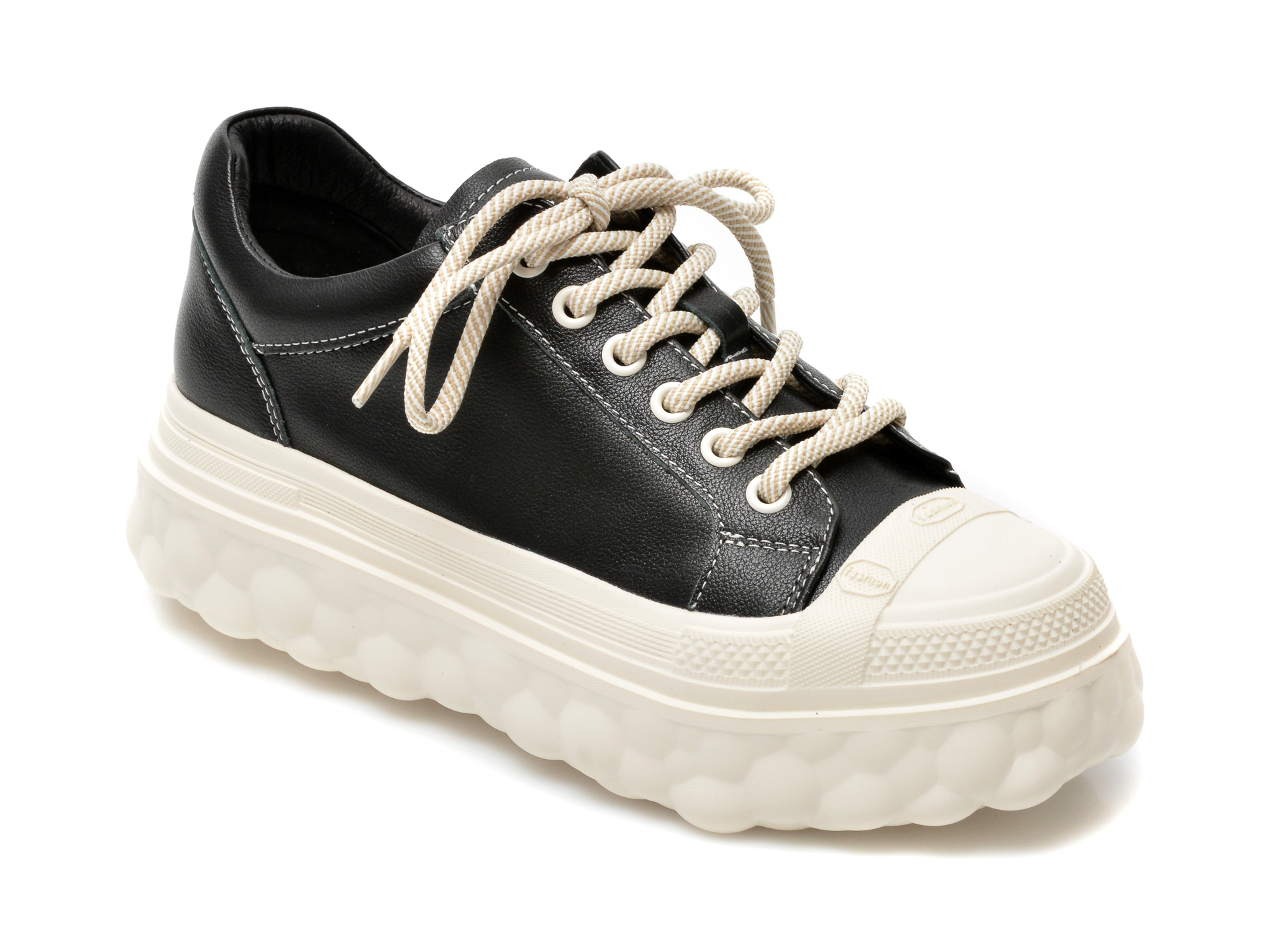 Pantofi sport GRYXX negri, A2152, din piele naturala imagine otter.ro 2021