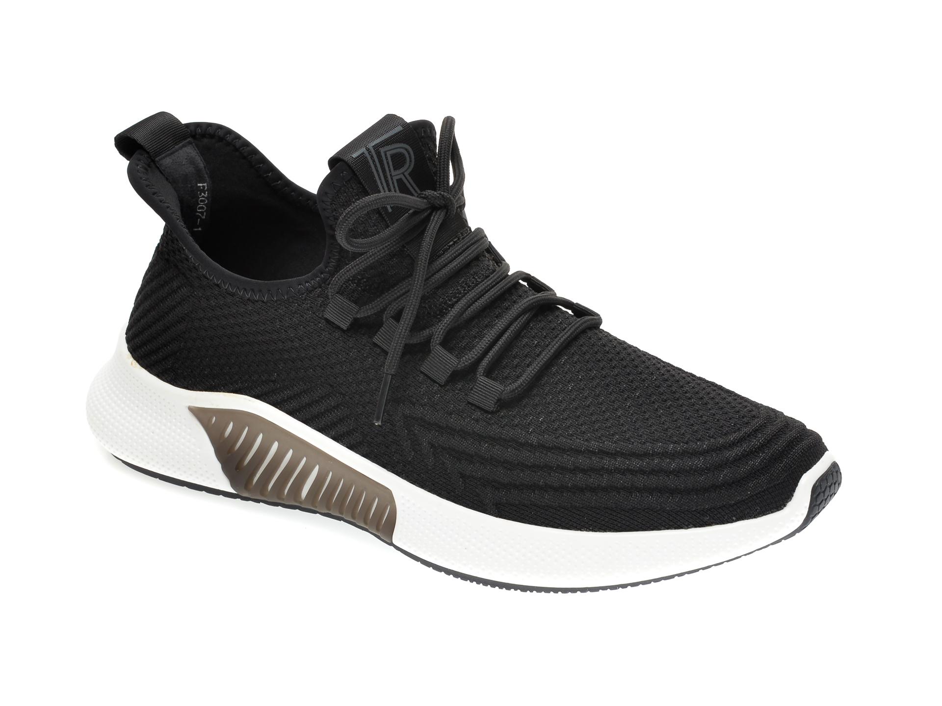 Pantofi sport GRYXX negri, F30071, din material textil