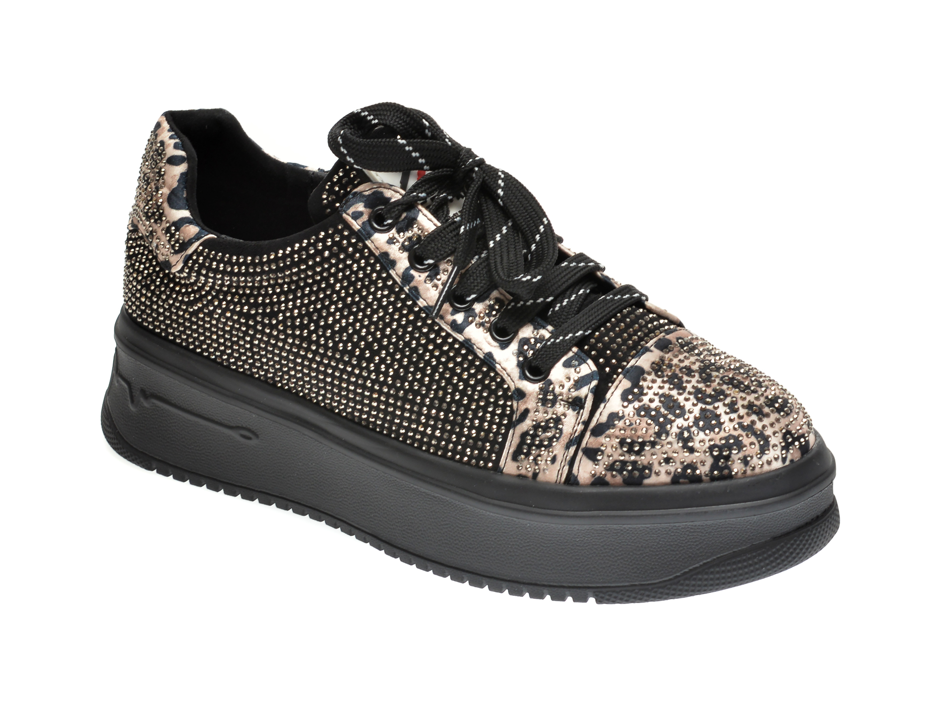 Pantofi sport GRYXX negri, H1171, din material textil