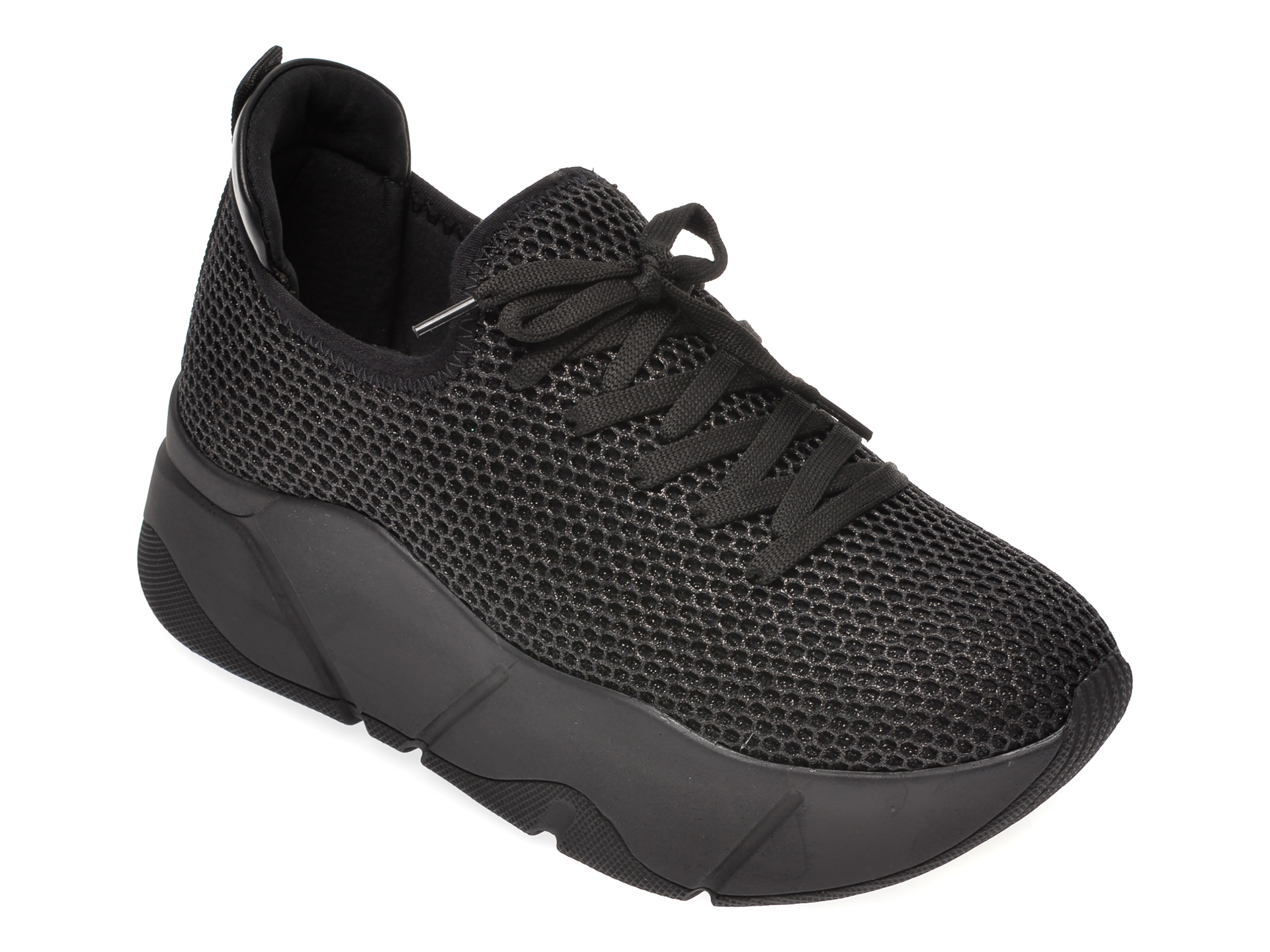 Pantofi sport GRYXX negri, M086W11, din material textil