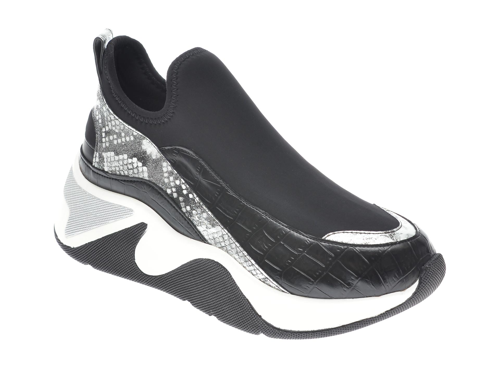 Pantofi sport GRYXX negri, MK115, din piele ecologica imagine