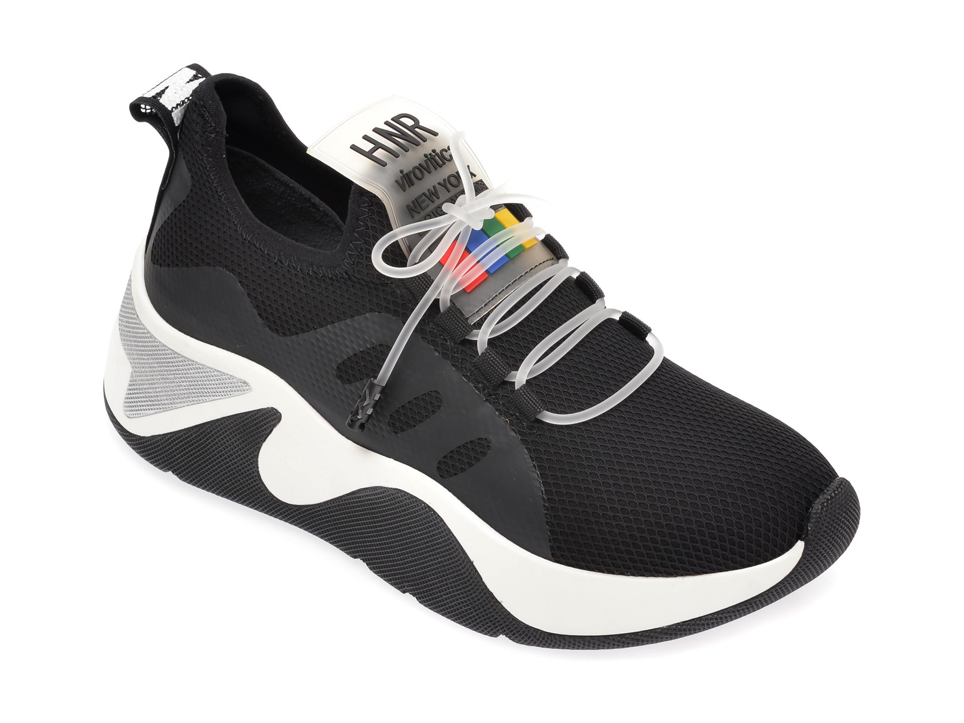 Pantofi sport GRYXX negri, MK13, din material textil