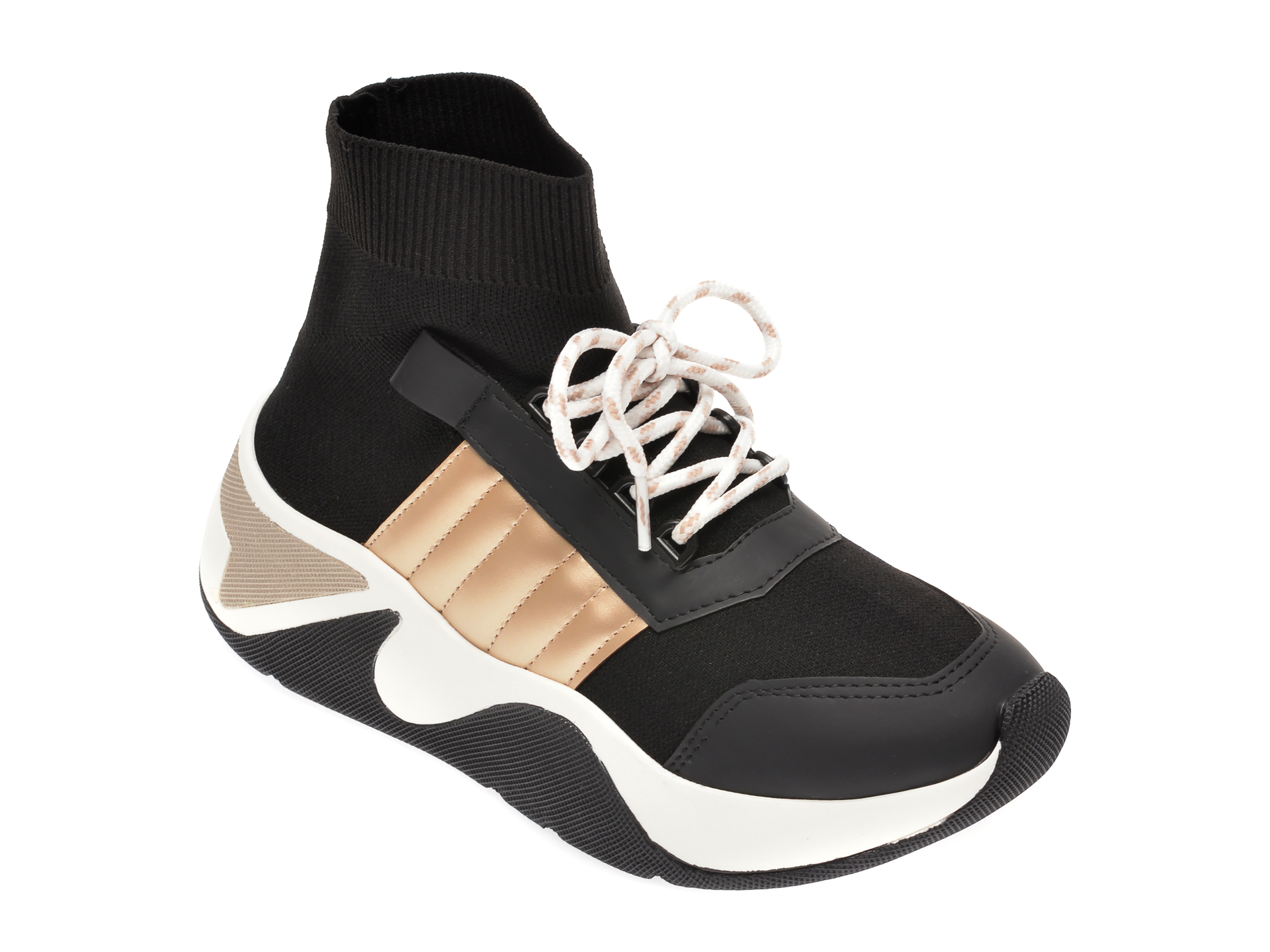 Pantofi sport GRYXX negri, MK1B2, din material textil imagine