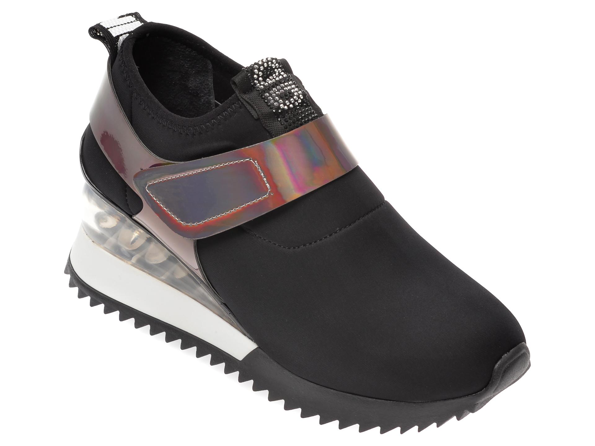 Pantofi sport GRYXX negri, MK8813, din material textil