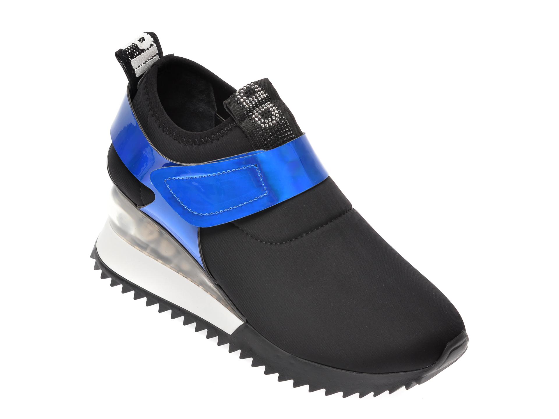 Pantofi sport GRYXX negri, MK8813, din material textil imagine