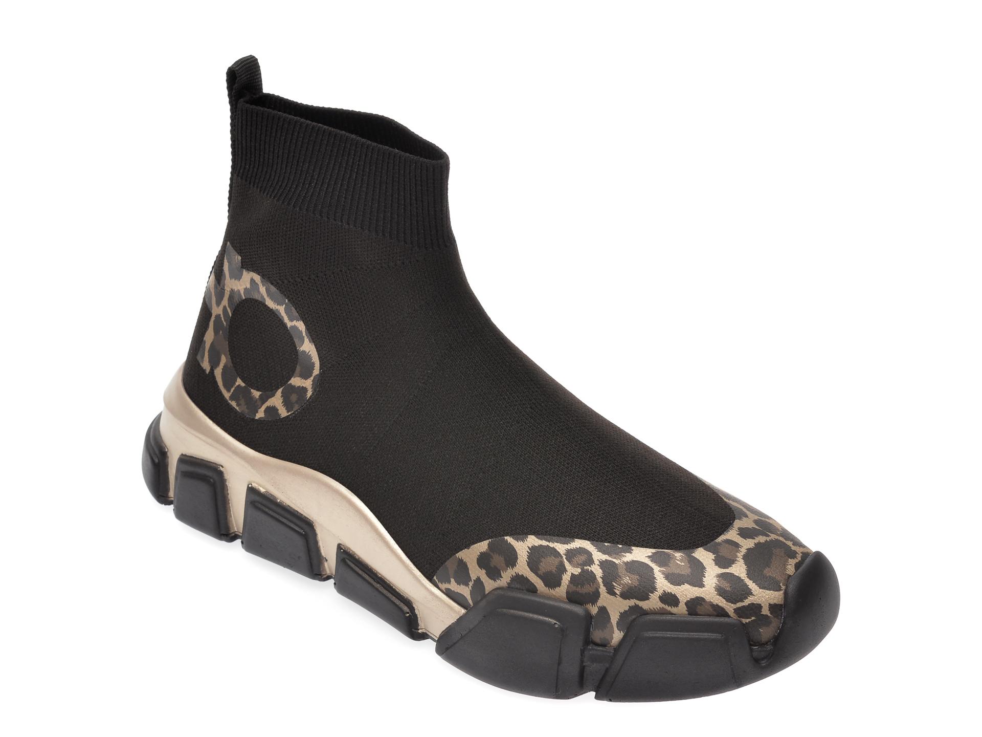 Pantofi sport GRYXX negri, MO111B1, din material textil