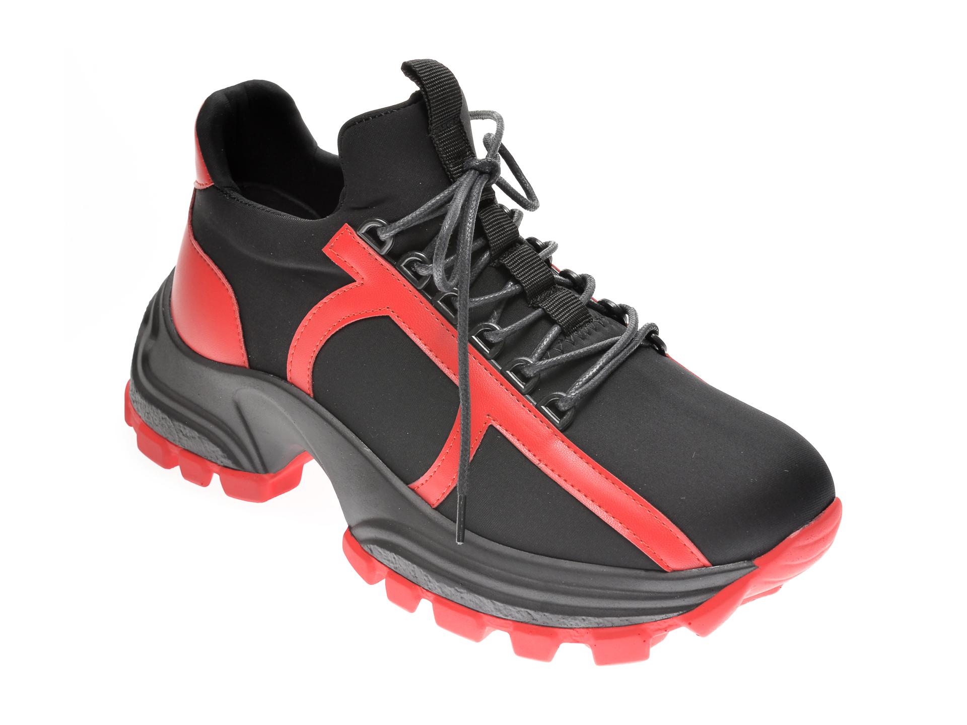 Pantofi sport GRYXX negri, MO12453, din material textil