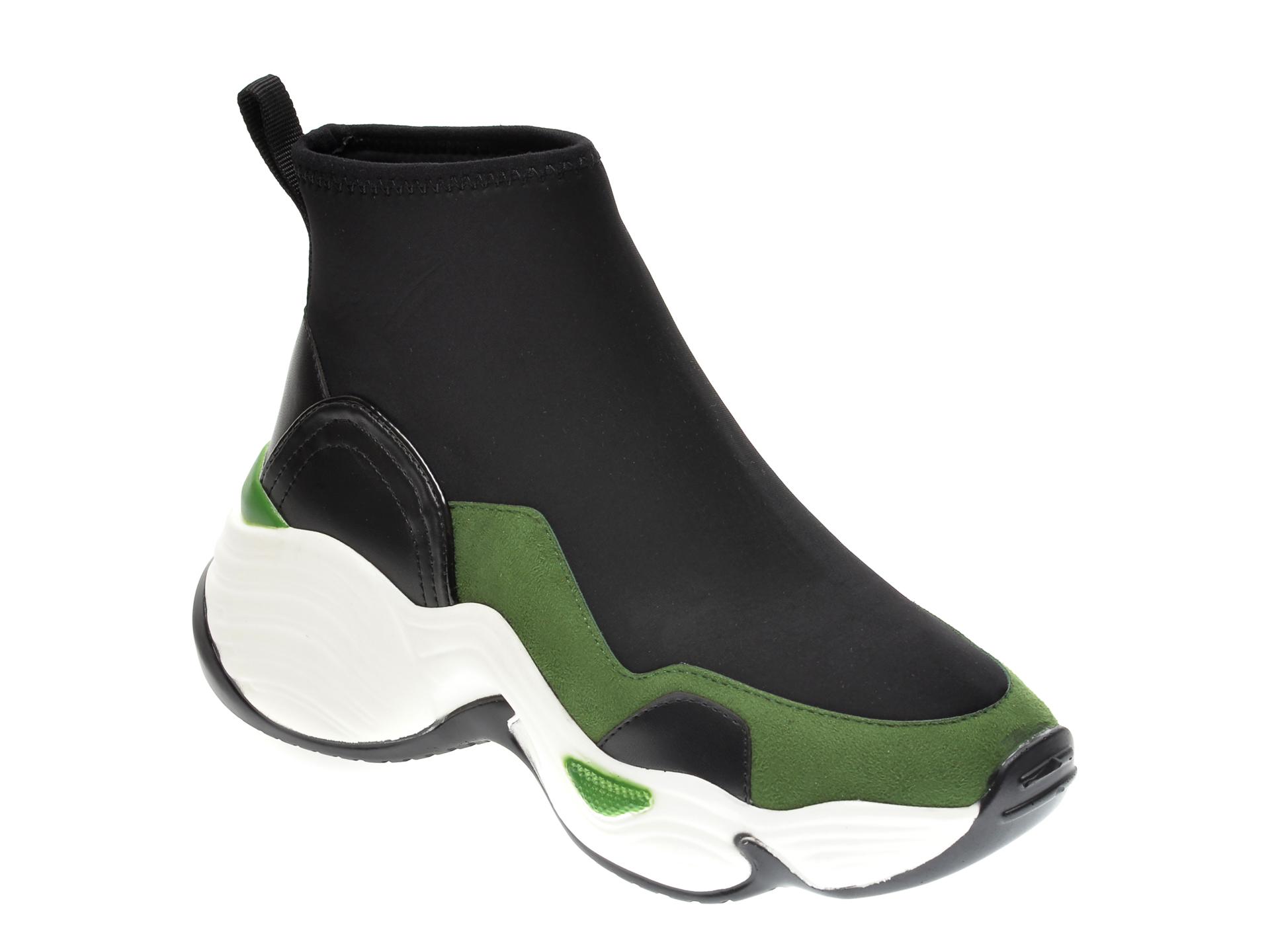 Pantofi sport GRYXX negri MO134B5, din material textil imagine
