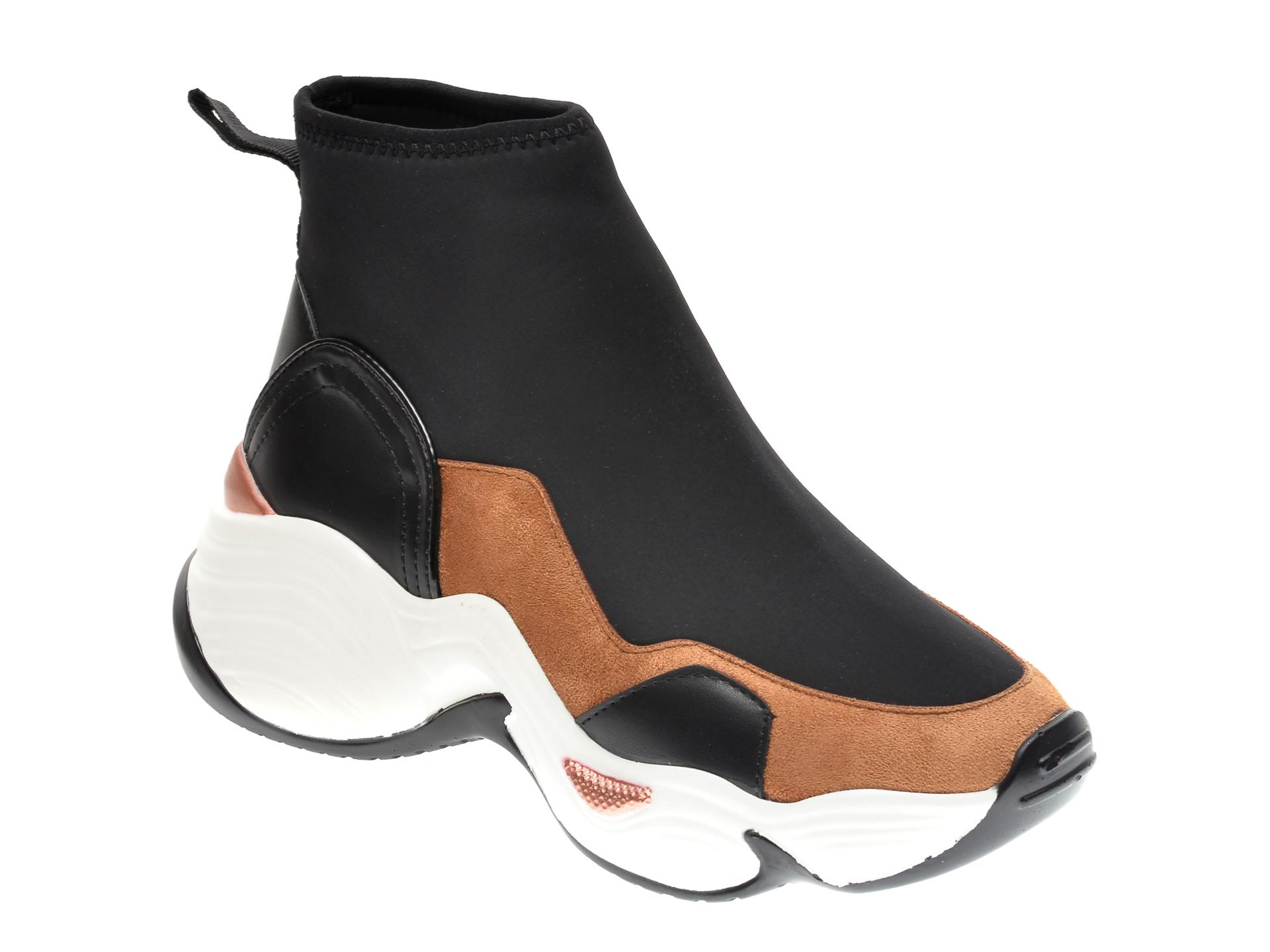 Pantofi sport GRYXX negri, MO134B5, din material textil imagine