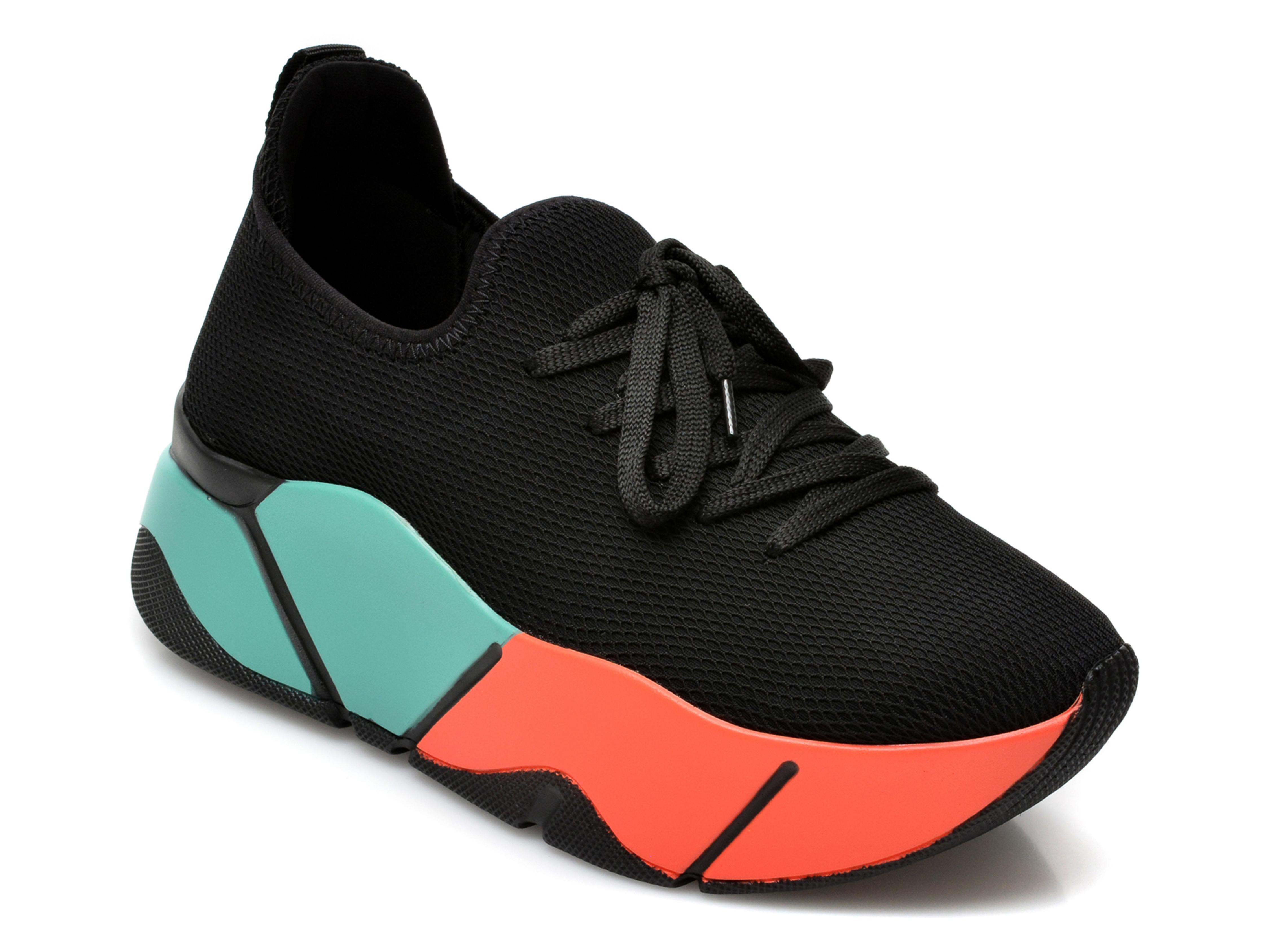 Pantofi sport GRYXX negri, MO861, din material textil imagine otter.ro 2021