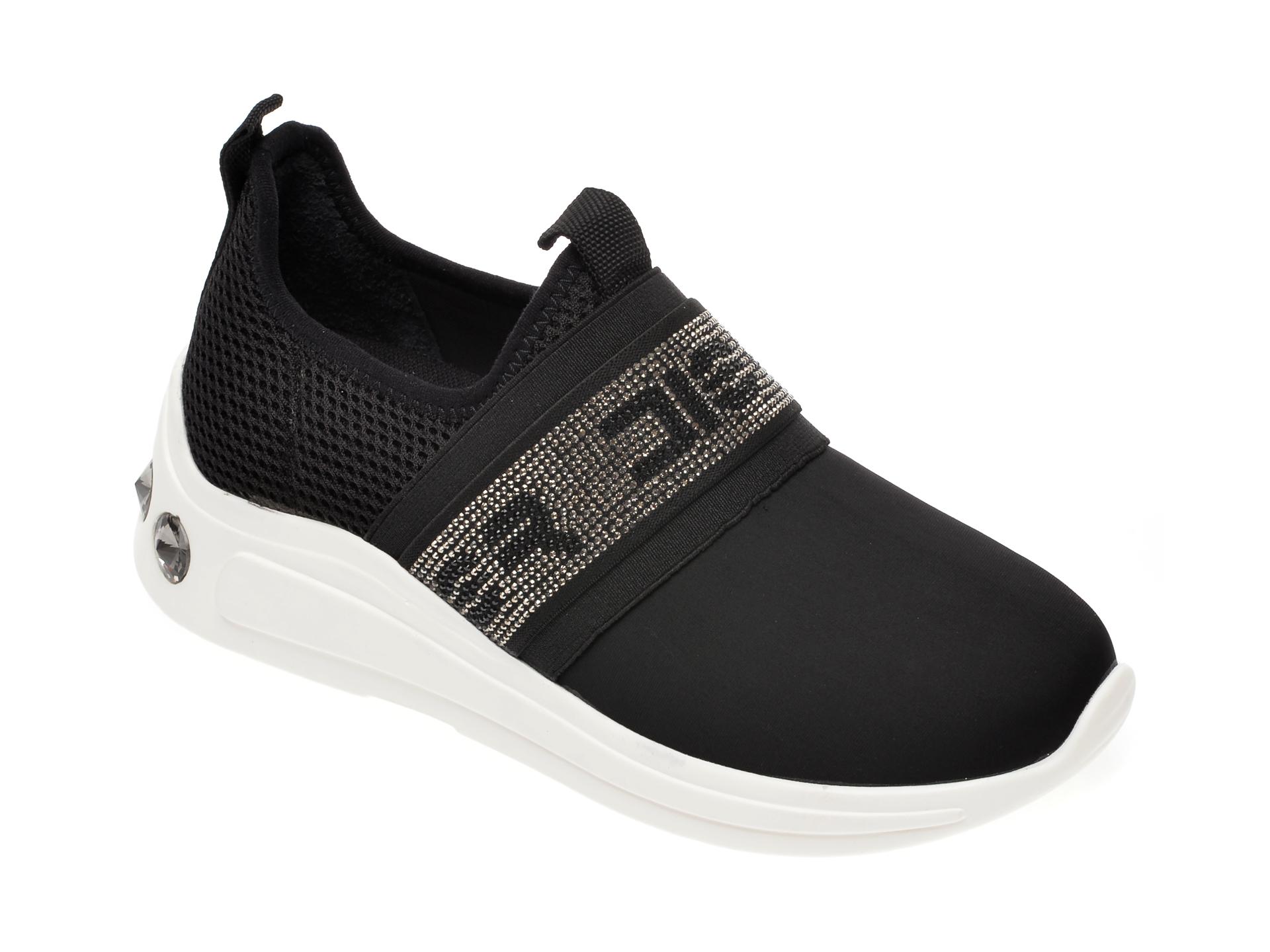 Pantofi sport GRYXX negri, P410, din material textil