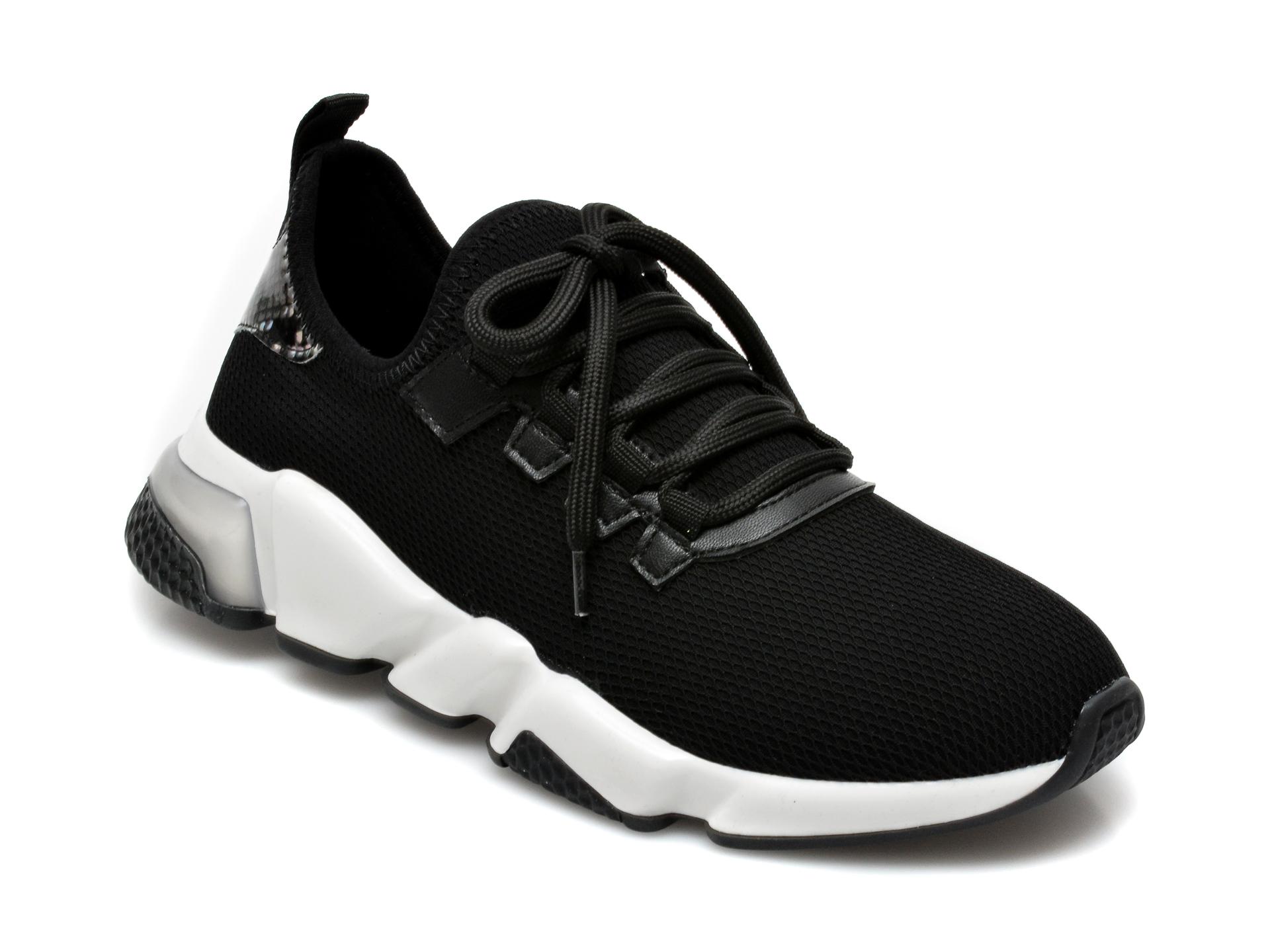 Pantofi sport GRYXX negri, T10107, din material textil imagine otter.ro 2021