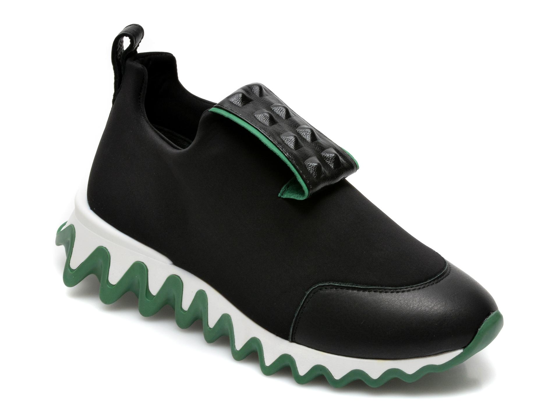 Pantofi sport GRYXX negri, T231, din material textil si piele ecologica imagine otter.ro 2021