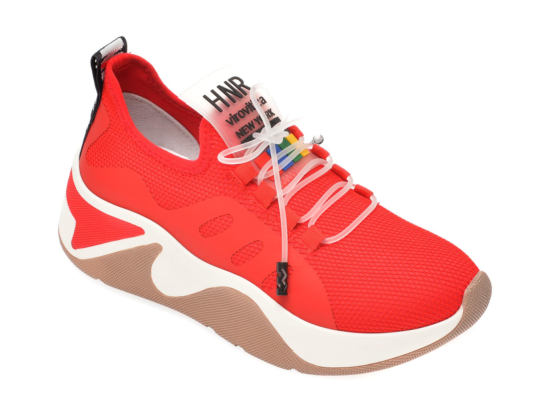 Pantofi sport GRYXX rosii, MK13, din material textil