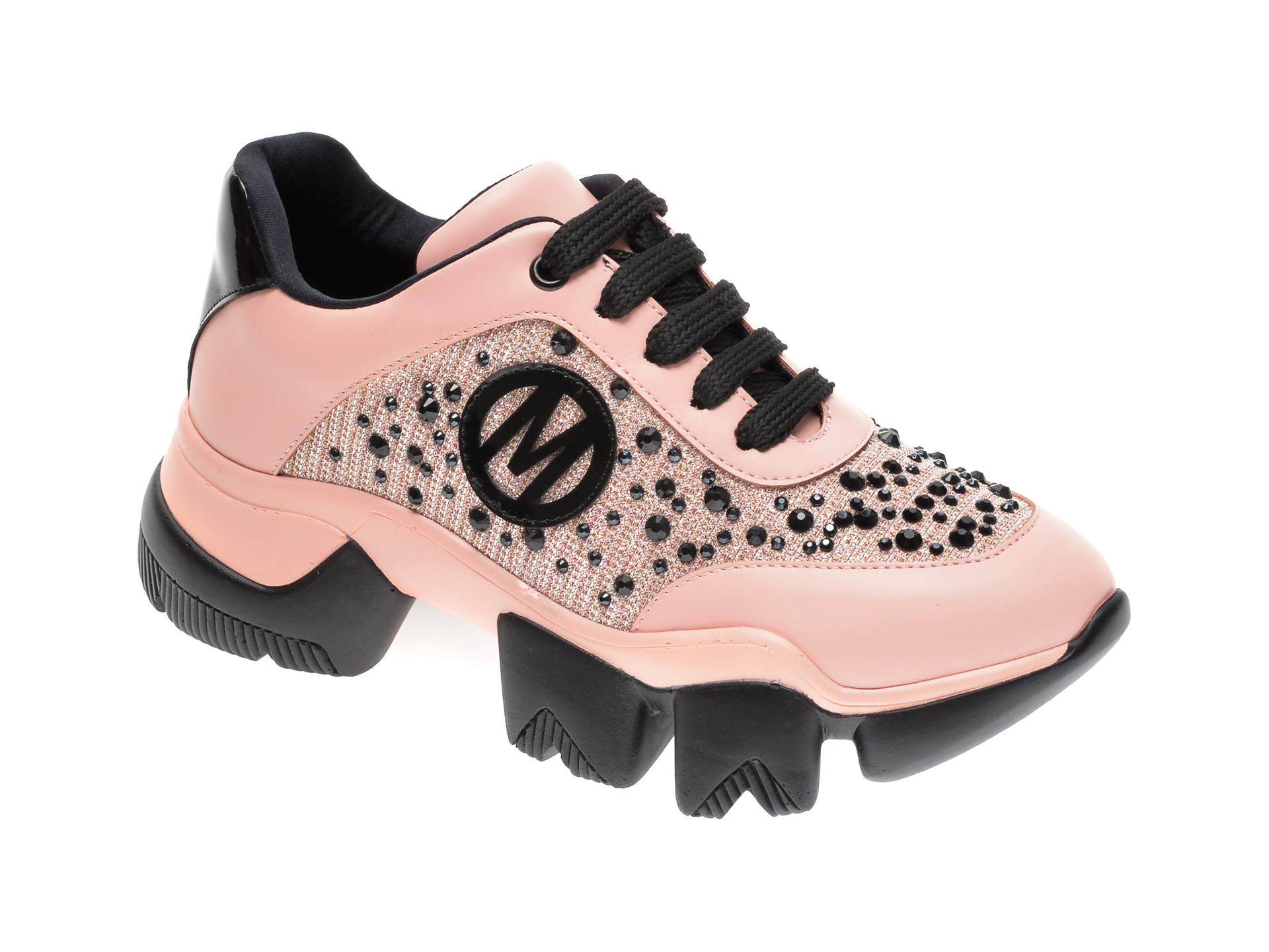 Pantofi sport GRYXX roz, MO9950, din piele ecologica
