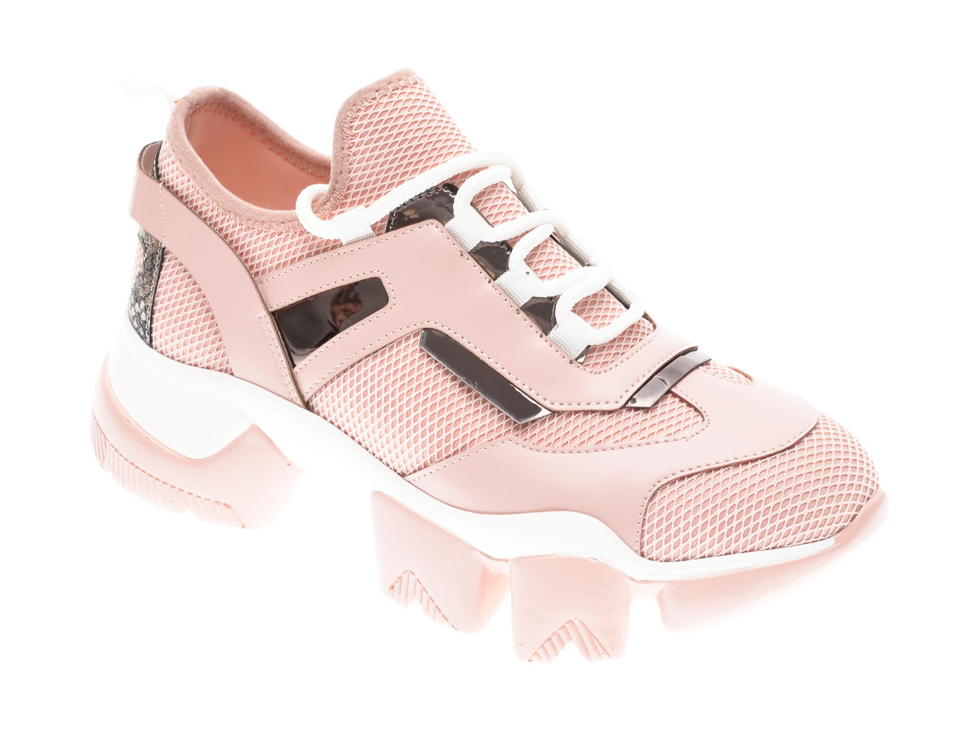 Pantofi sport GRYXX roz, MO9953, din piele ecologica