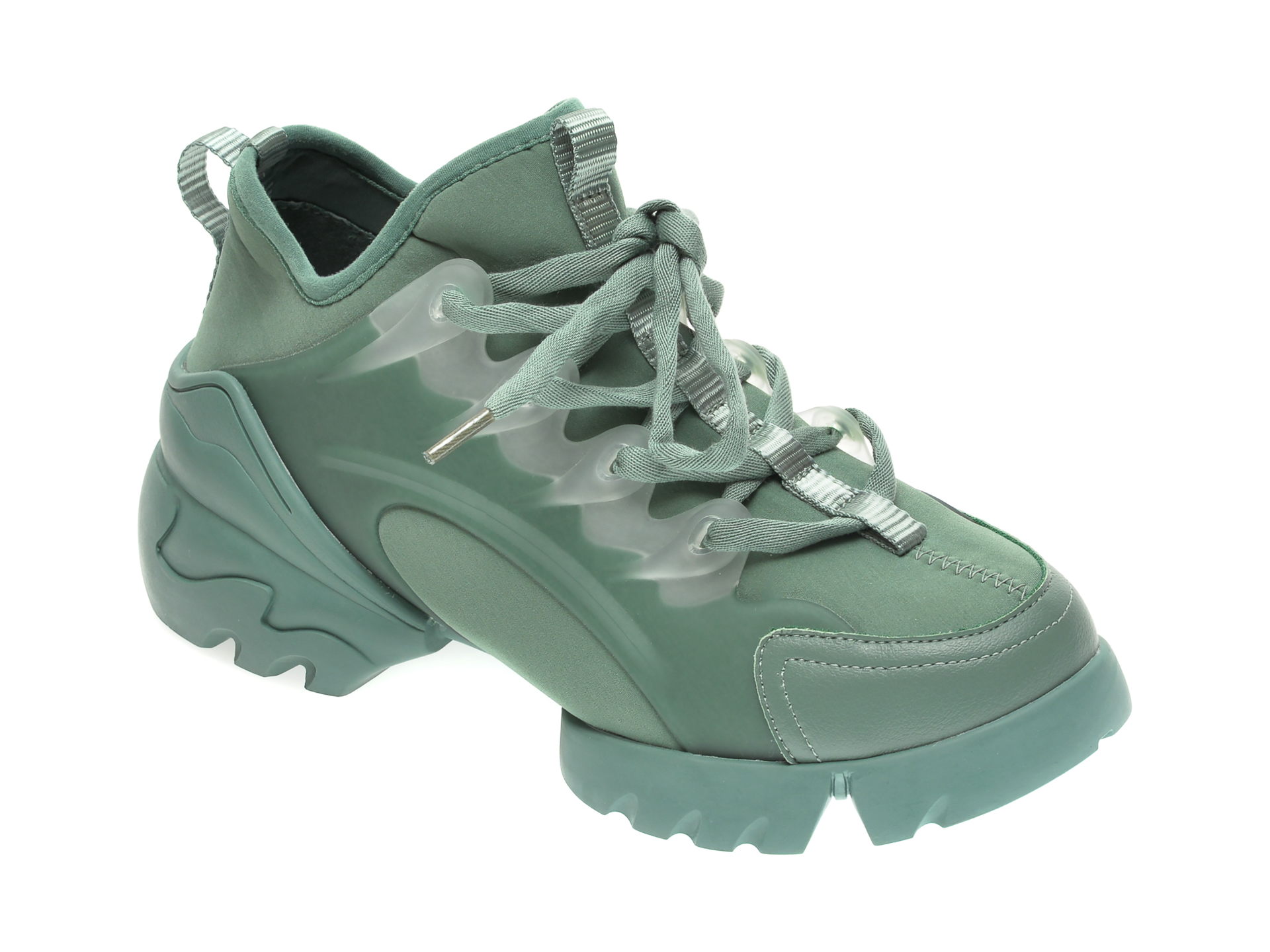 Pantofi sport GRYXX verzi, B168, din material textil New