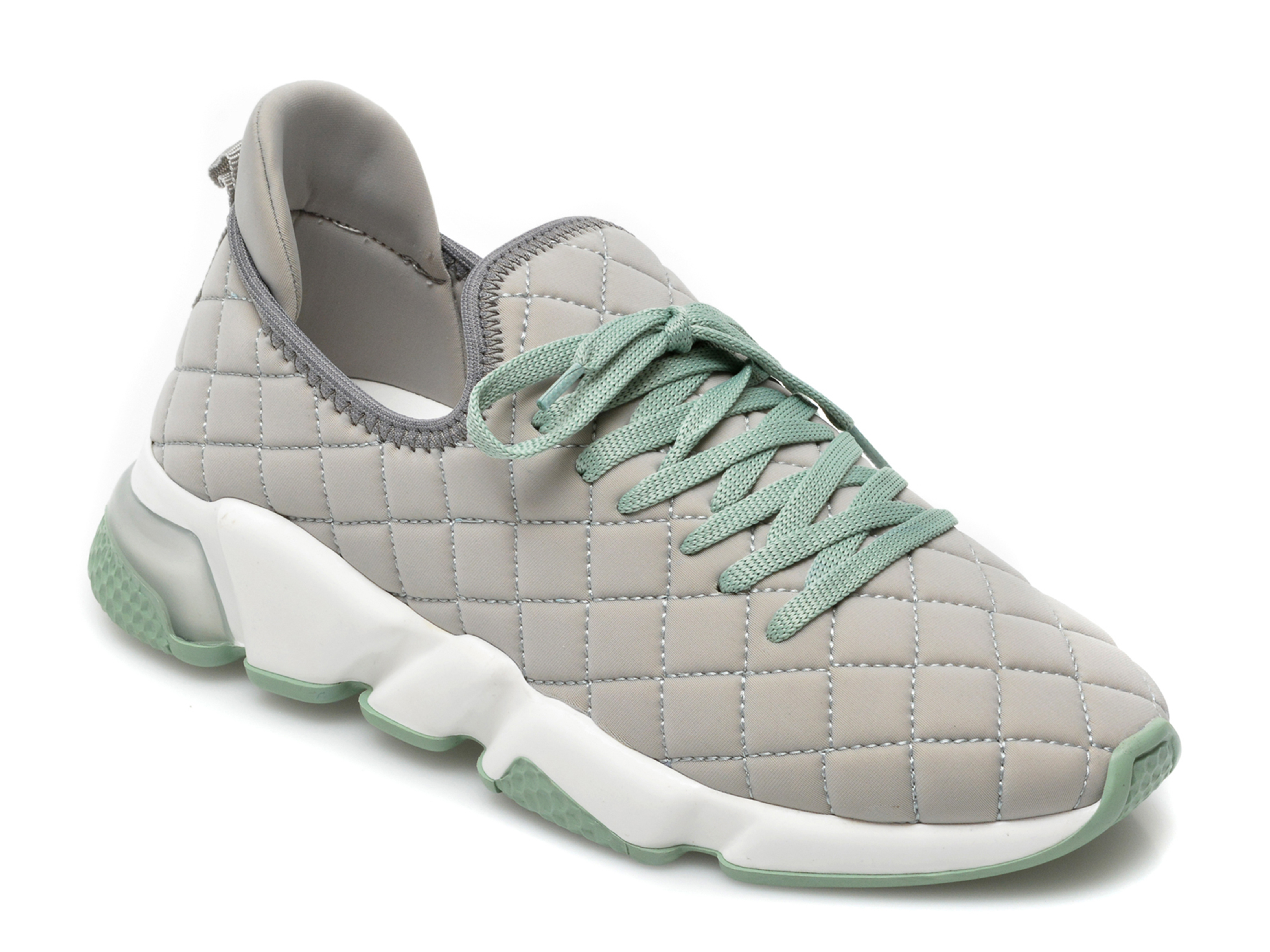 Pantofi sport GRYXX verzi, T10103, din material textil imagine otter.ro 2021