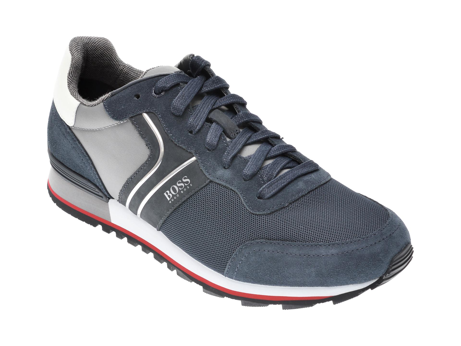 Pantofi sport HUGO BOSS bleumarin, 3661, din material textil imagine