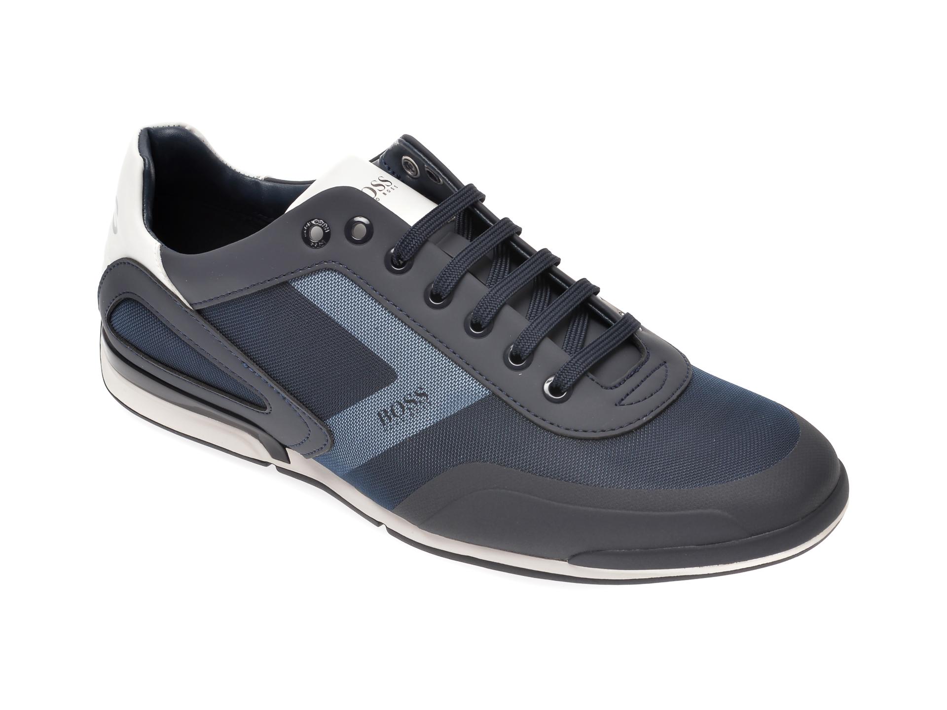 Pantofi sport HUGO BOSS bleumarin, 8234, din material textil