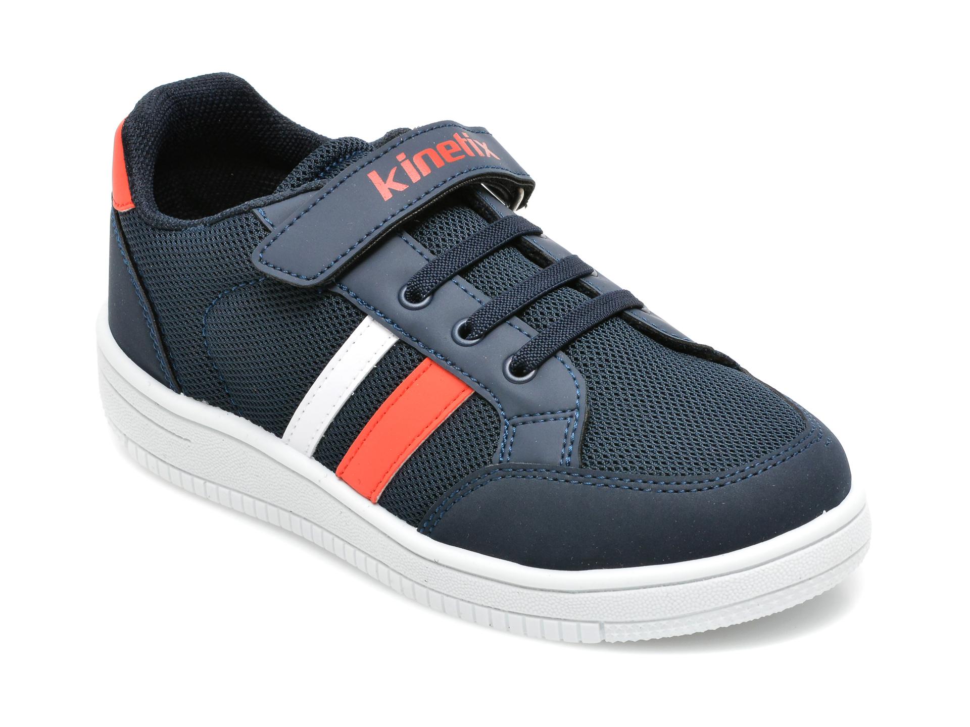 Pantofi sport KINETIX bleumarin, Malibu Mesh Boy 1Fx, din material textil