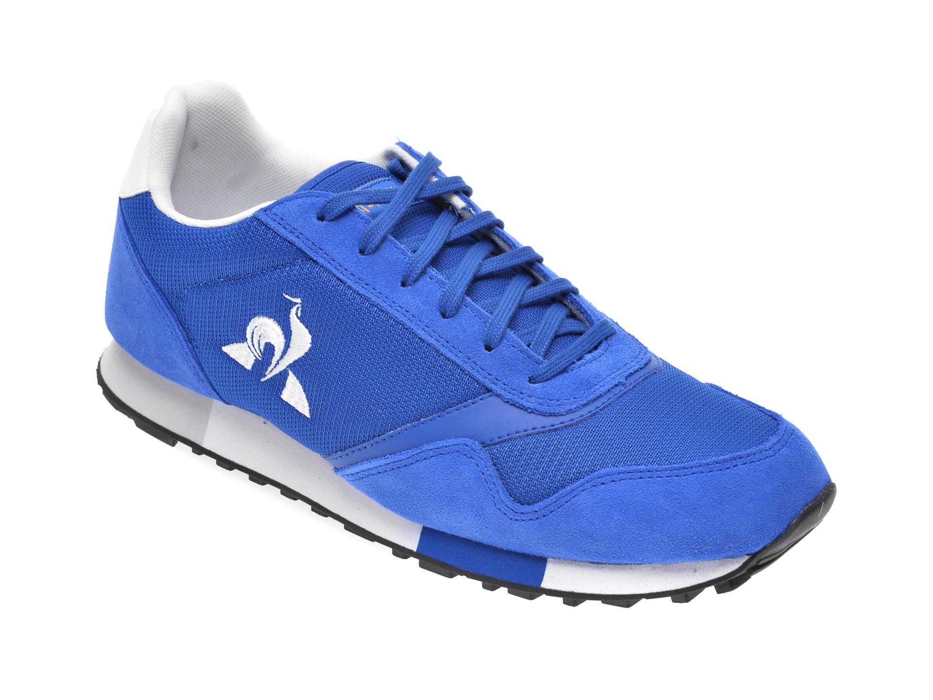 Pantofi sport LE COQ SPORTIF albastri, 2010312, din material textil imagine