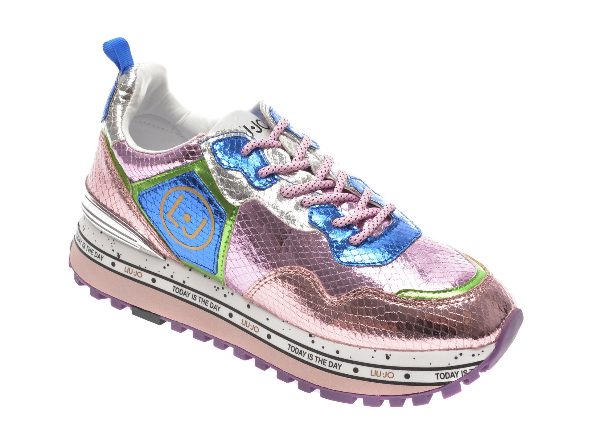 Pantofi sport LIU JO multicolori , Maxiale, din piele ecologica imagine