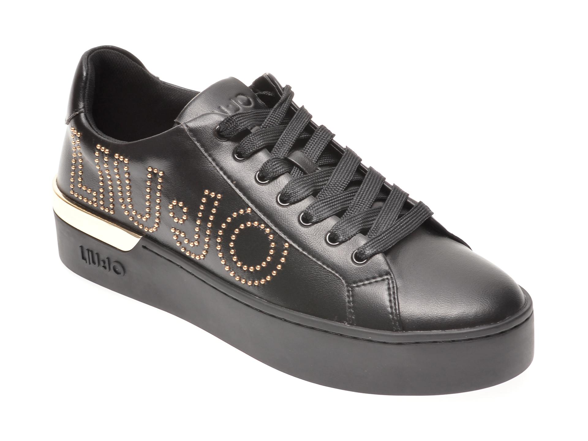 Pantofi sport LIU JO negri, SILV10, din piele ecologica