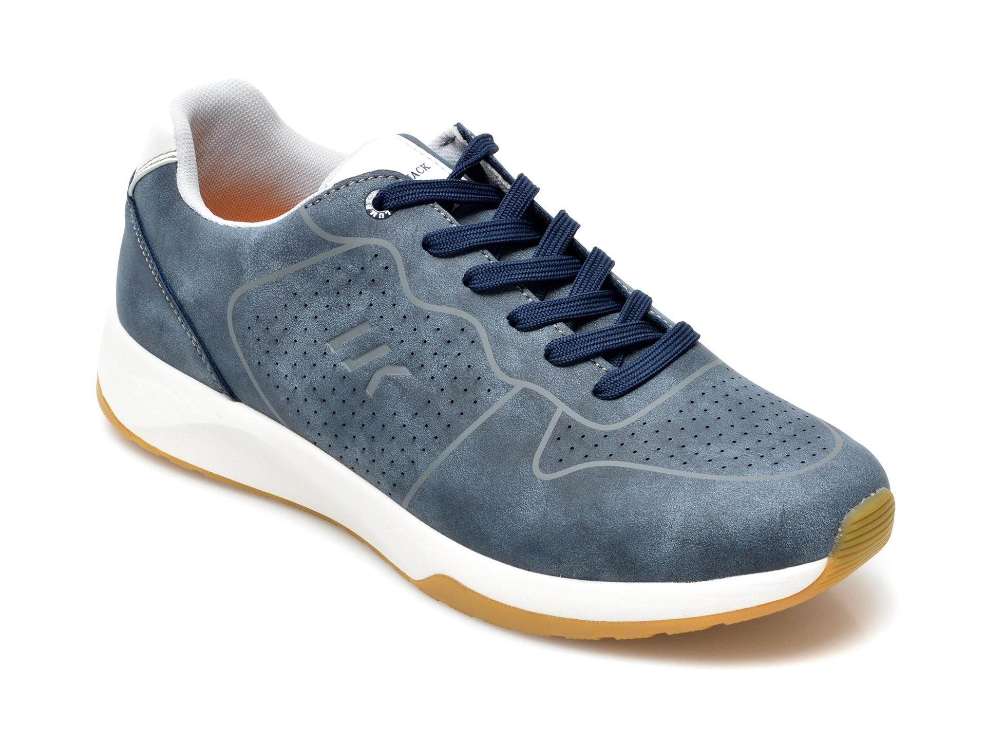 Pantofi Sport Lumberjack Albastri, 8651003, Din Piele Ecologica