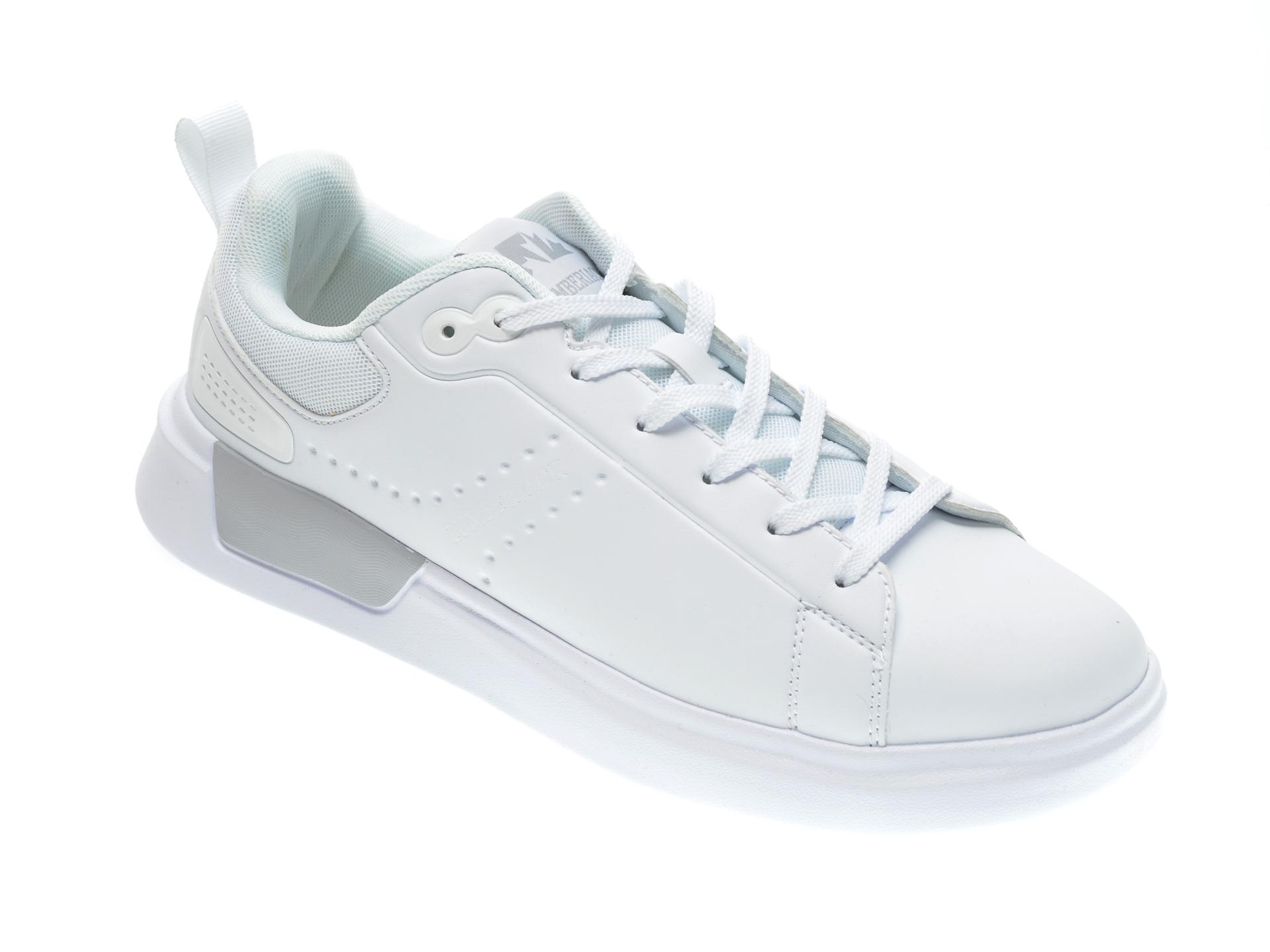 Pantofi sport LUMBERJACK albi, 711001, din piele ecologica imagine otter.ro 2021