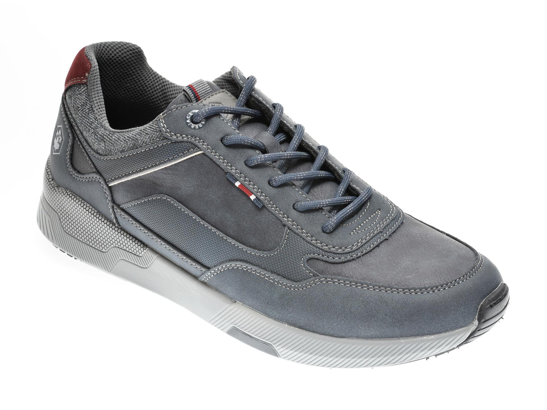 Pantofi sport LUMBERJACK bleumarin, 412004, din nabuc imagine