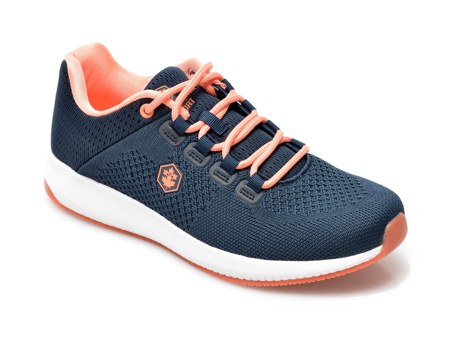 Pantofi Sport Lumberjack Bleumarin, 6231001, Din Material Textil