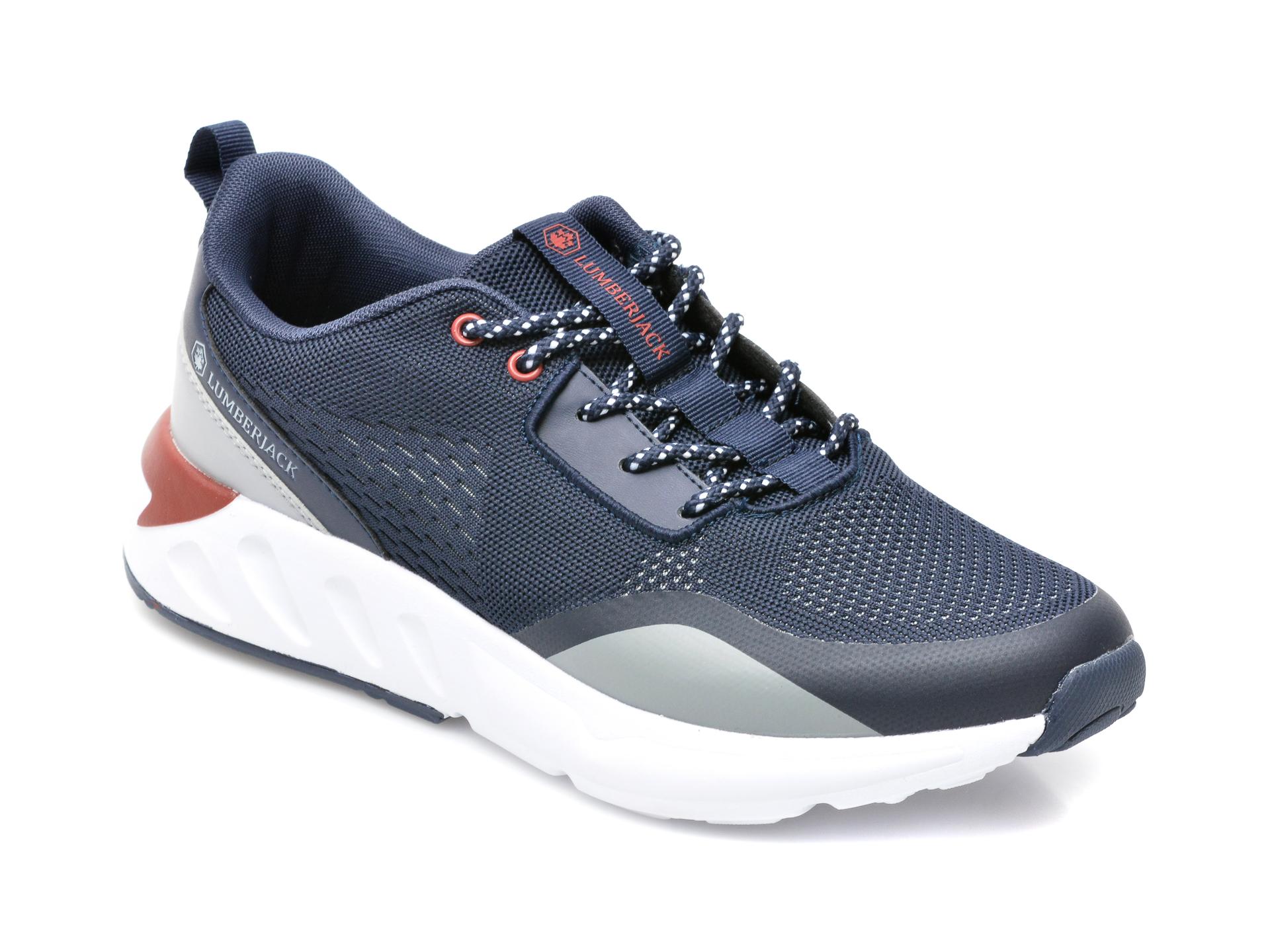 Pantofi sport LUMBERJACK bleumarin, 8451001, din material textil