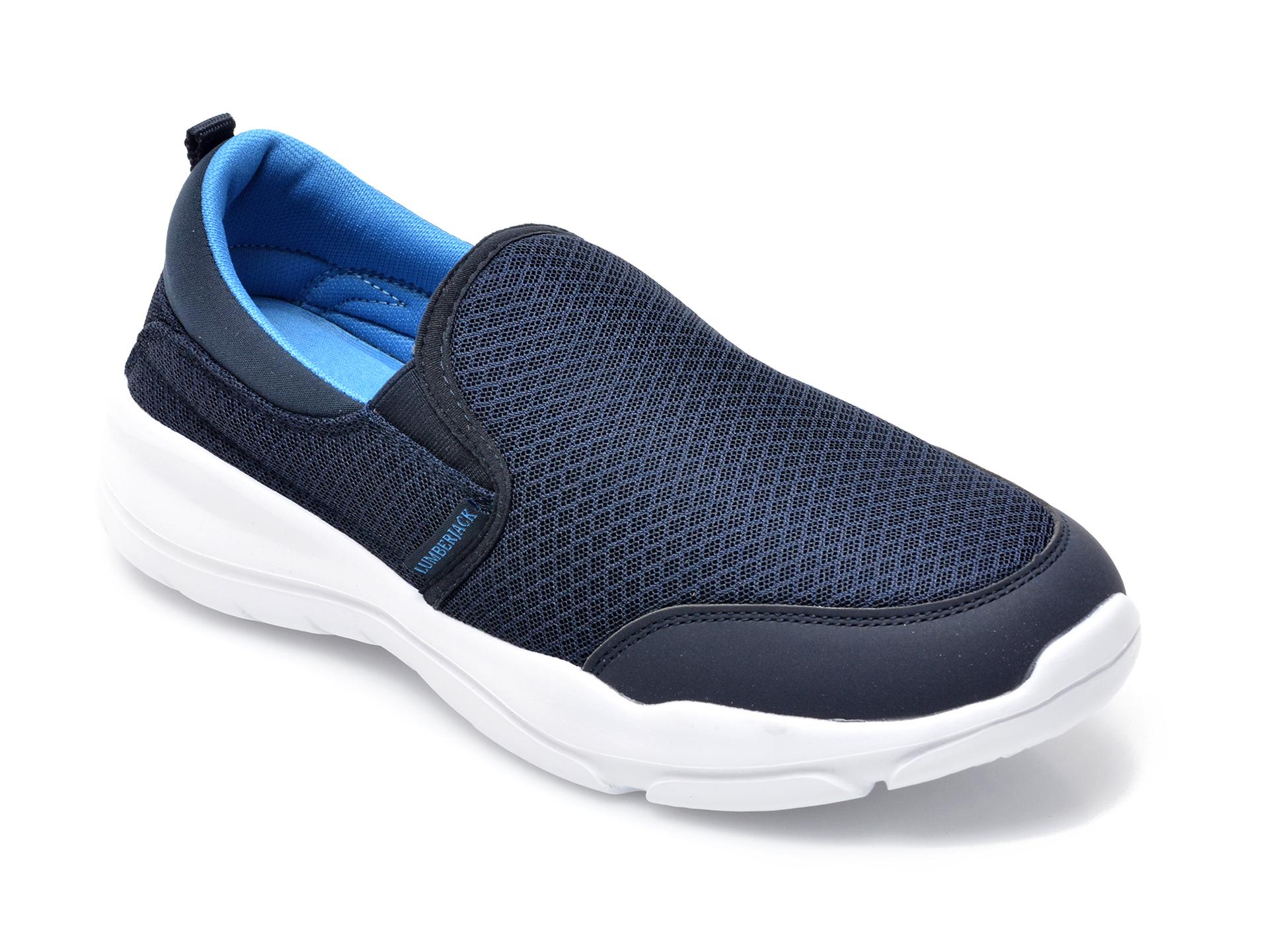 Pantofi sport LUMBERJACK bleumarin, A940001, din material textil imagine otter.ro