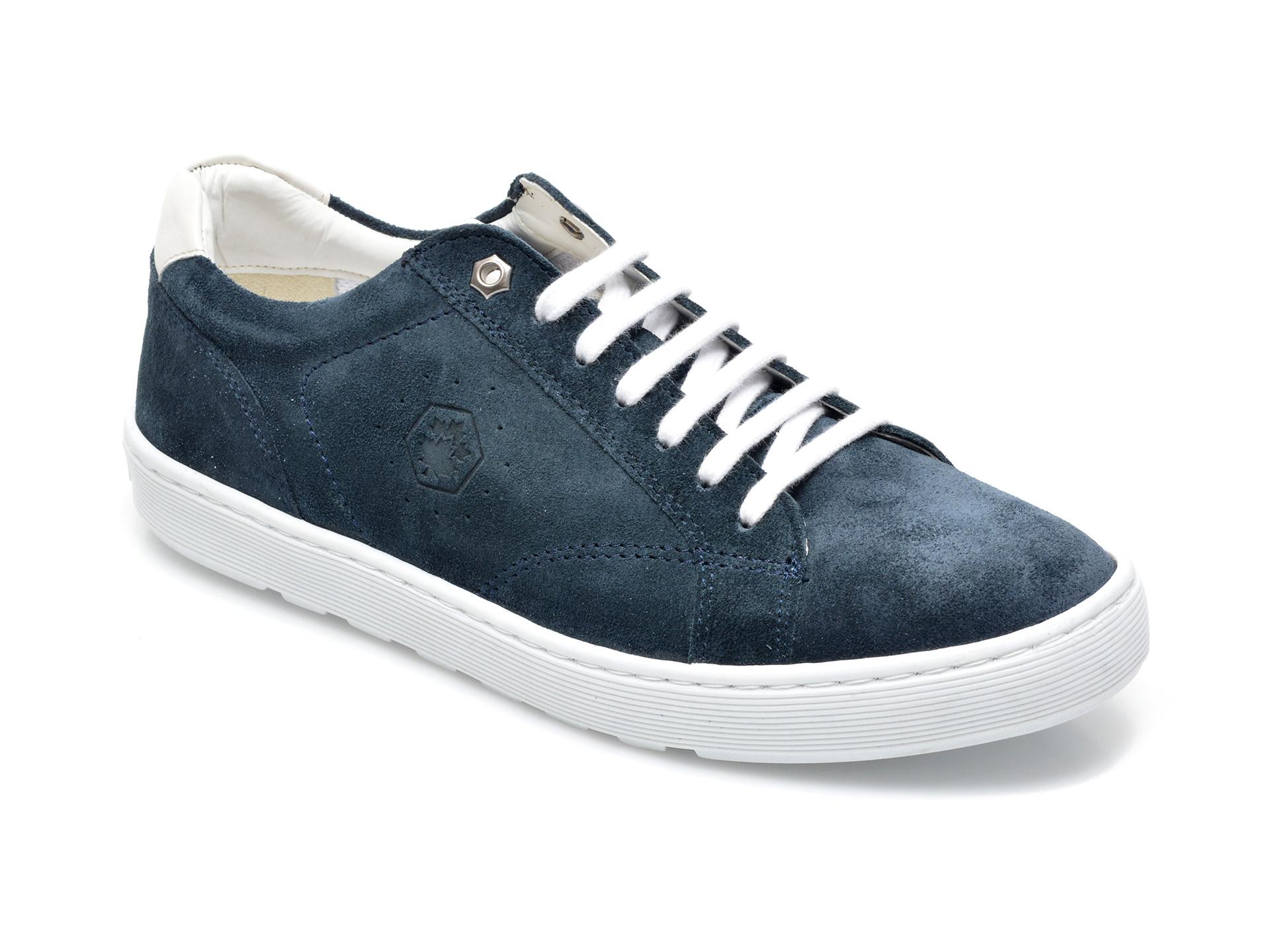Pantofi sport LUMBERJACK bleumarin, B681001, din piele intoarsa imagine otter.ro