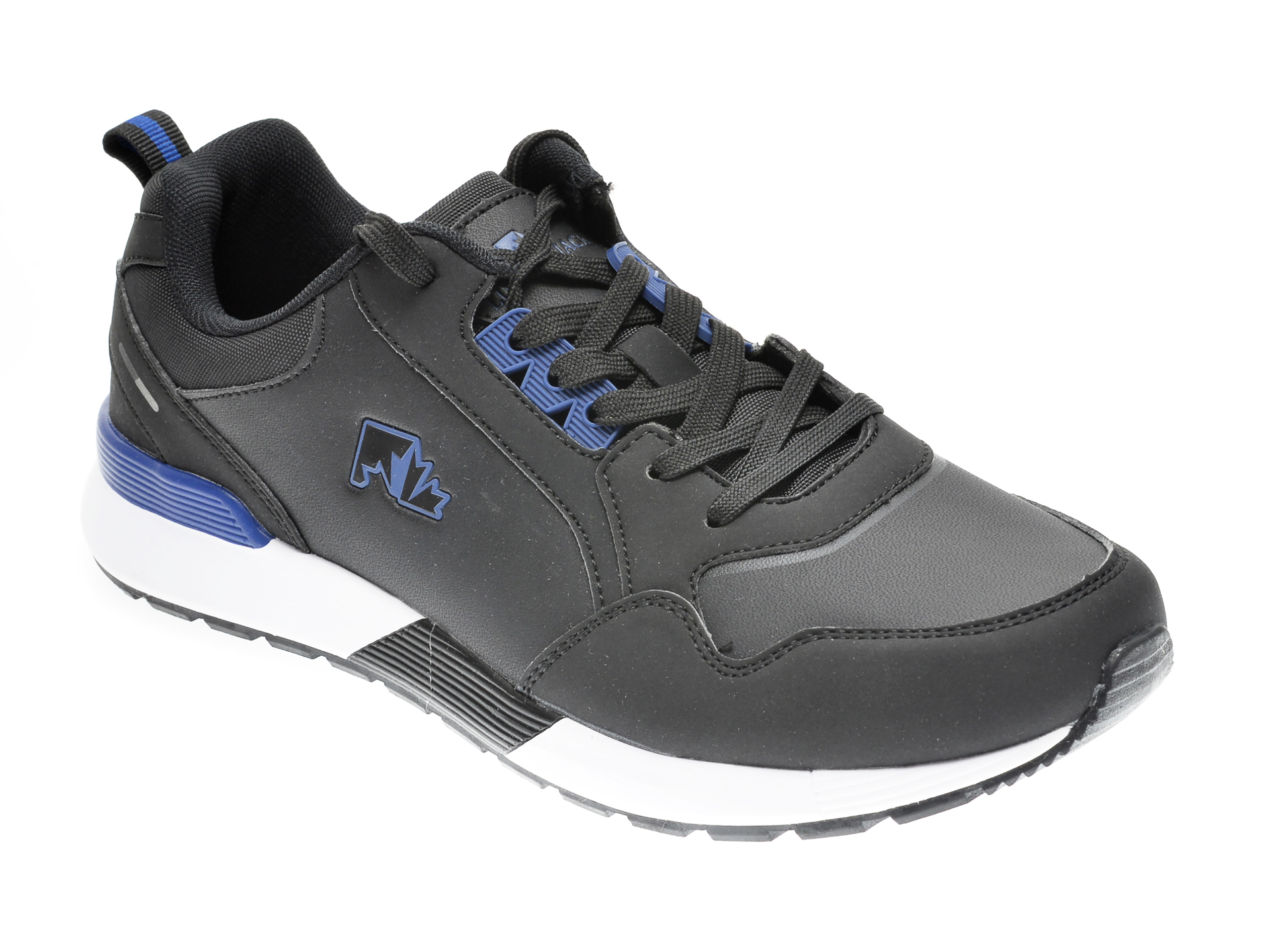 Pantofi sport LUMBERJACK negri, 111001, din piele ecologica imagine