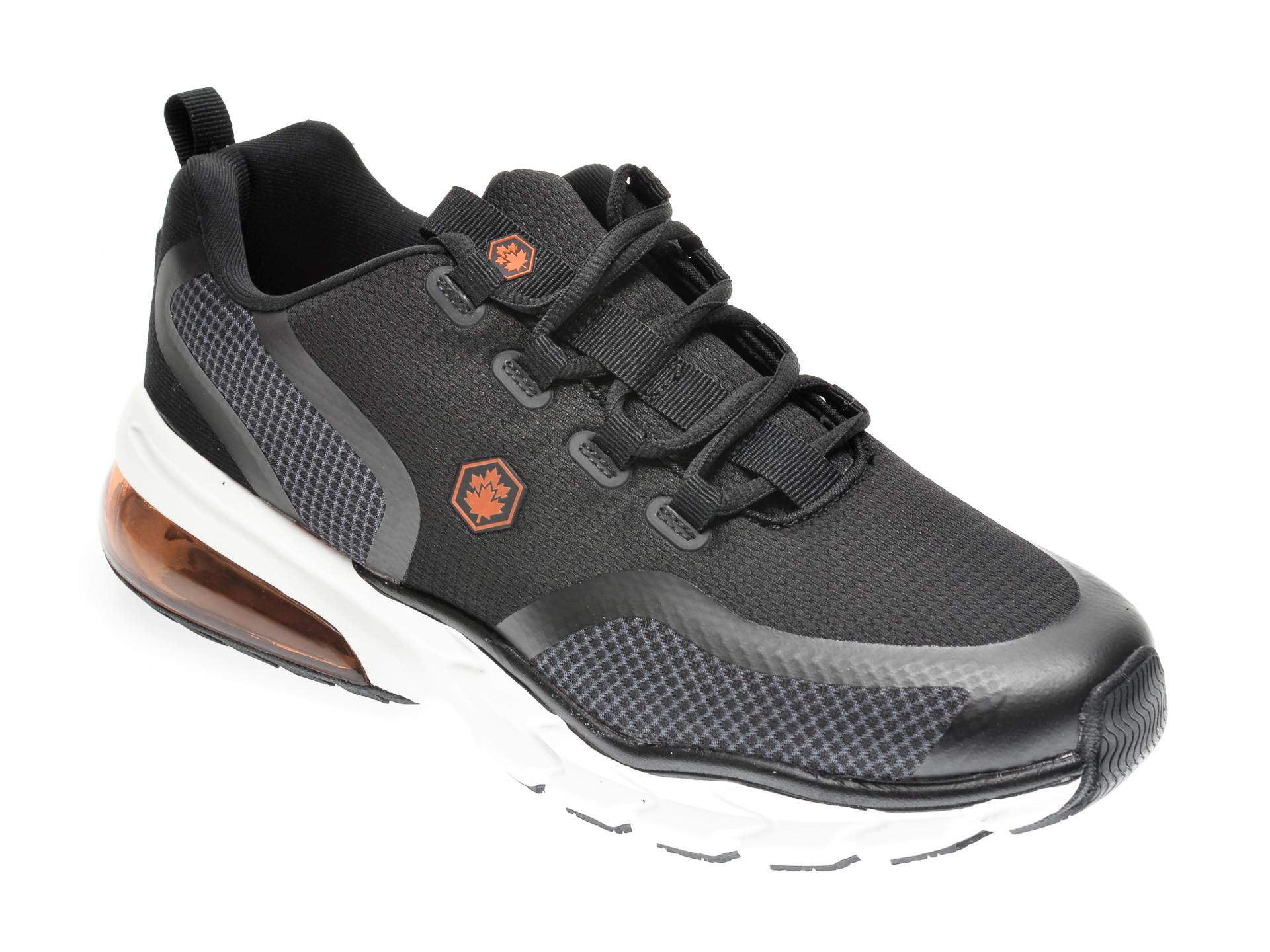Pantofi sport LUMBERJACK negri, 211001, din material textil imagine