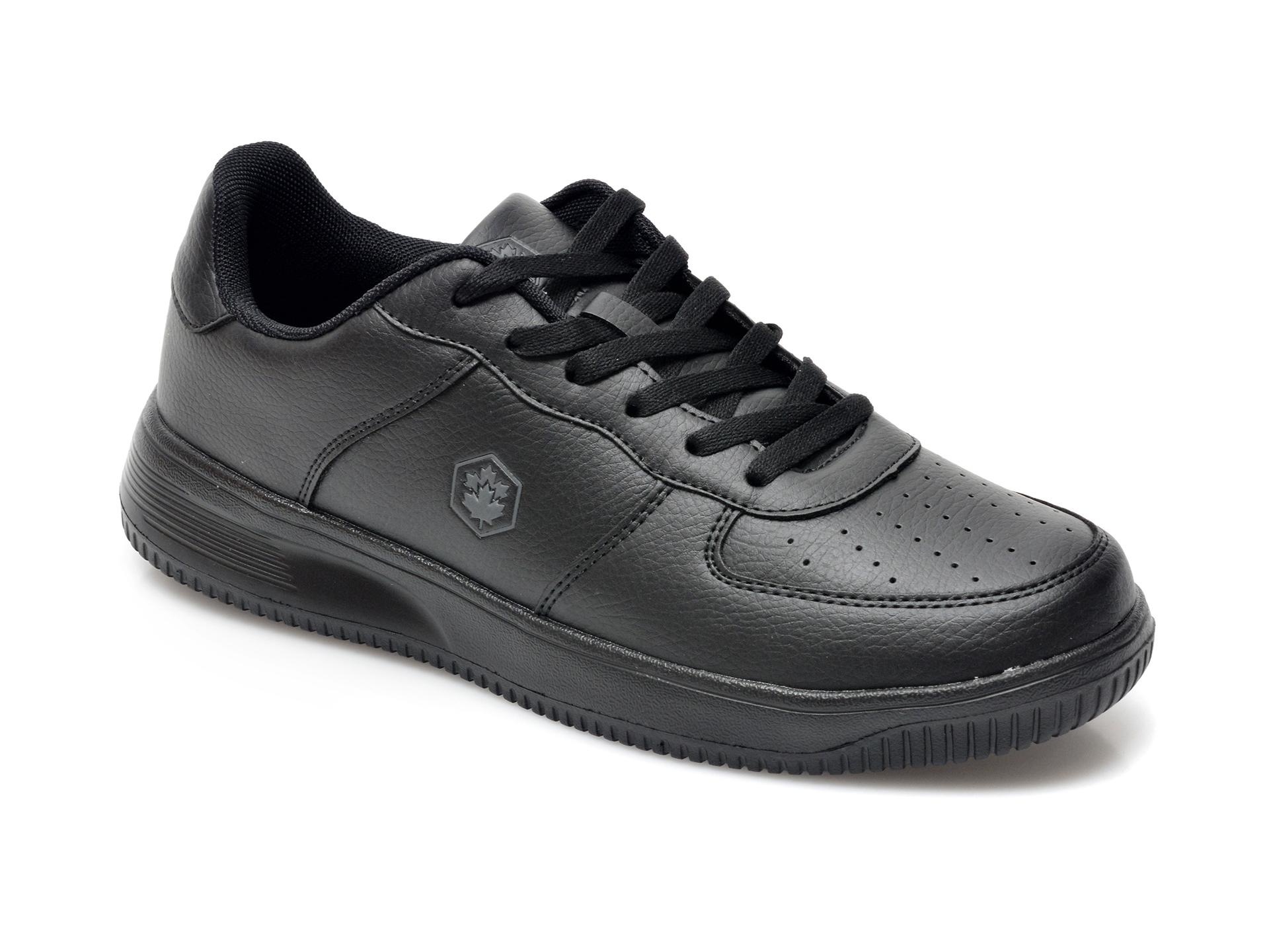 Pantofi sport LUMBERJACK negri, 7041001, din piele ecologica imagine otter.ro 2021