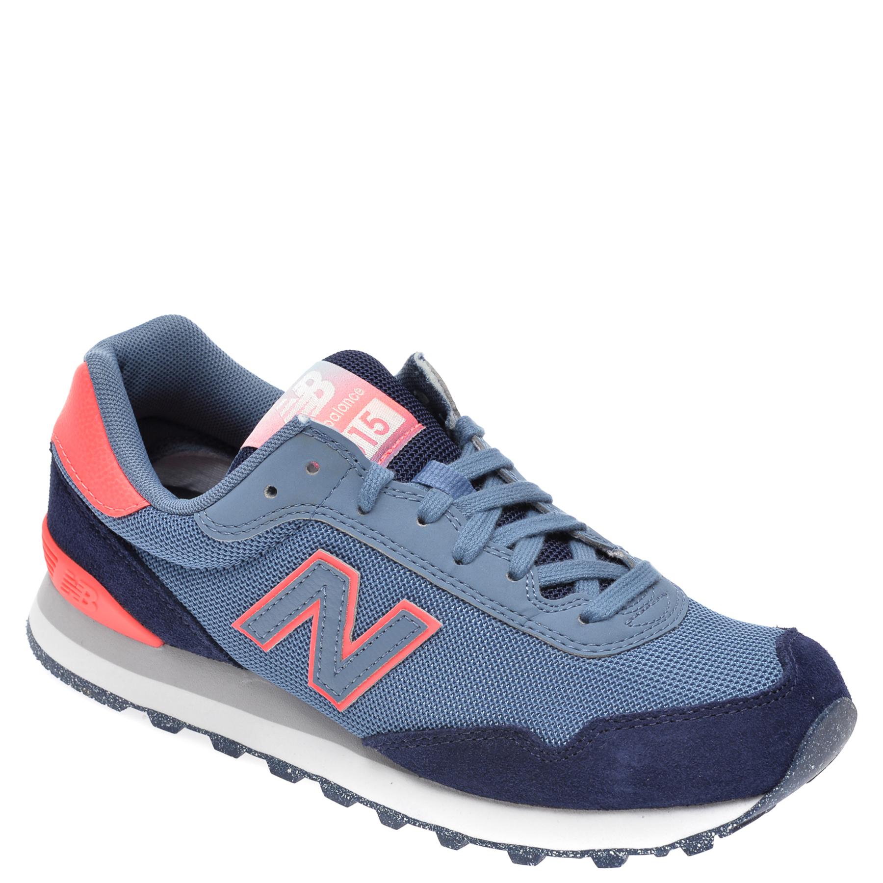 Pantofi sport NEW BALANCE albastri, WS515, din material taxtil