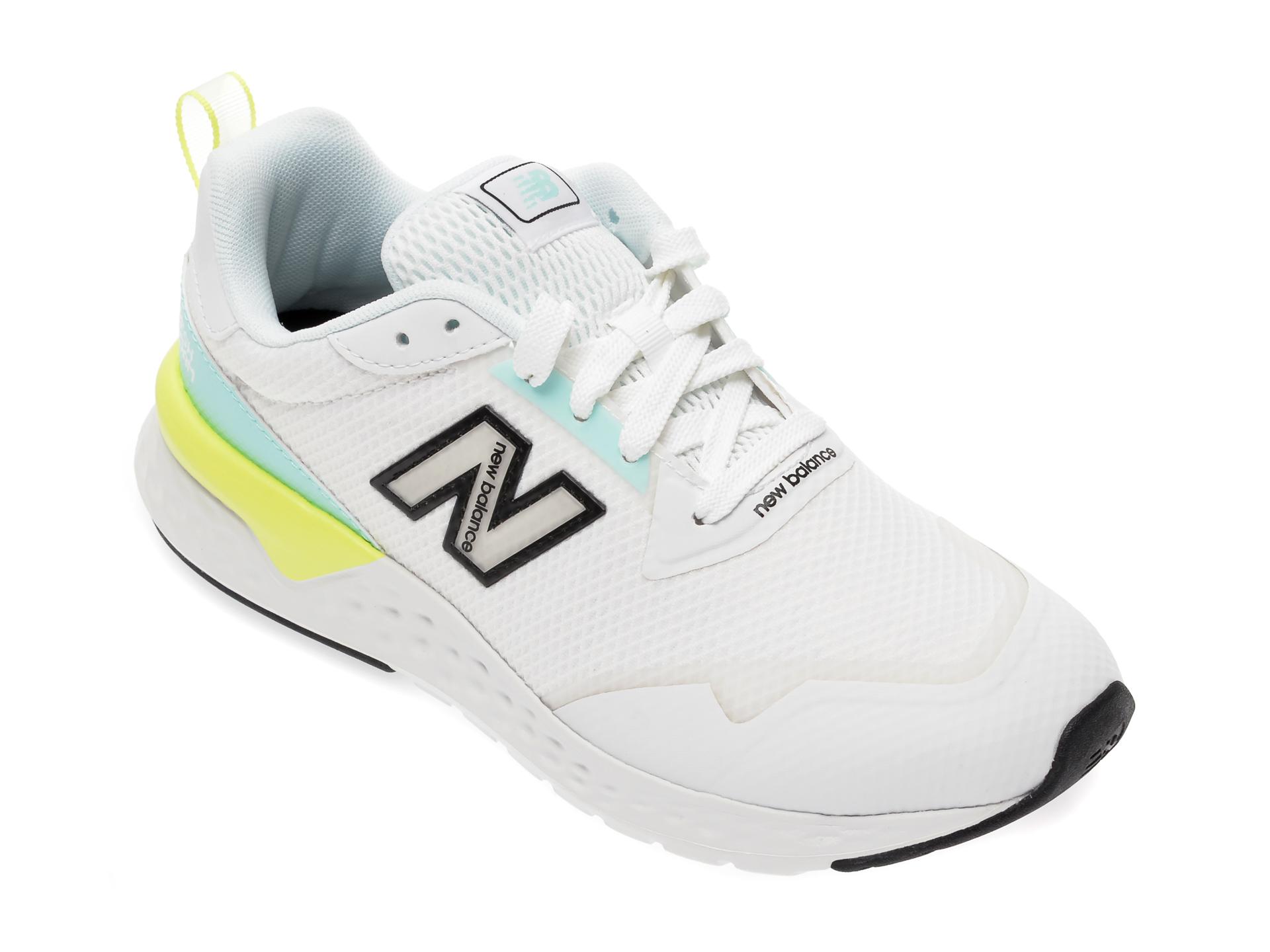Pantofi sport NEW BALANCE albi, WS515, din material textil